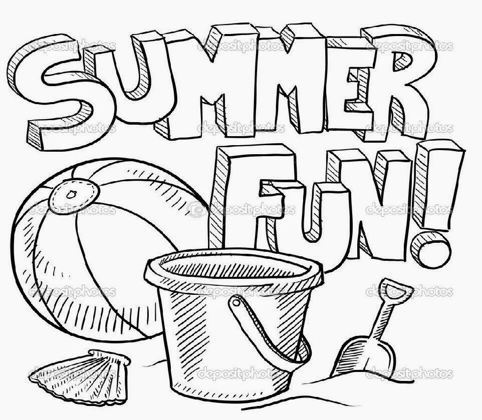 Christmas Coloring Pages 3rd Grade With Summer