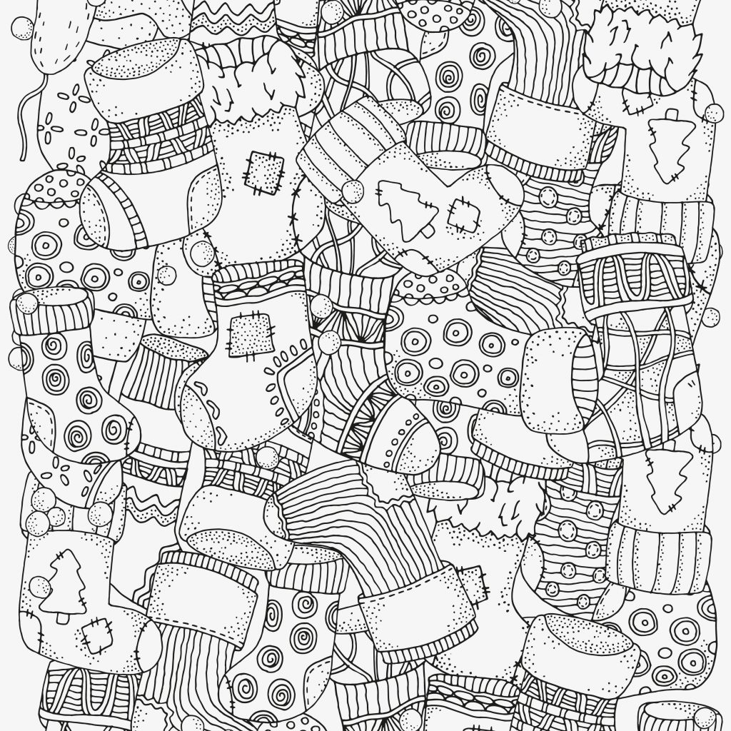 Christmas Coloring Pages Activity Village With Best Of Fruit Colouring Design Printable