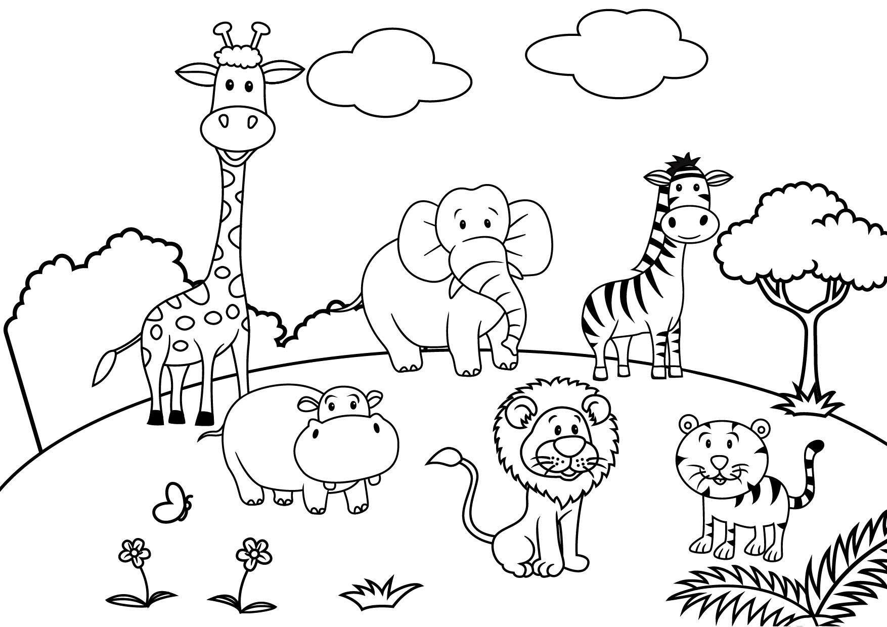 Christmas Coloring Pages Activity Village With Fresh