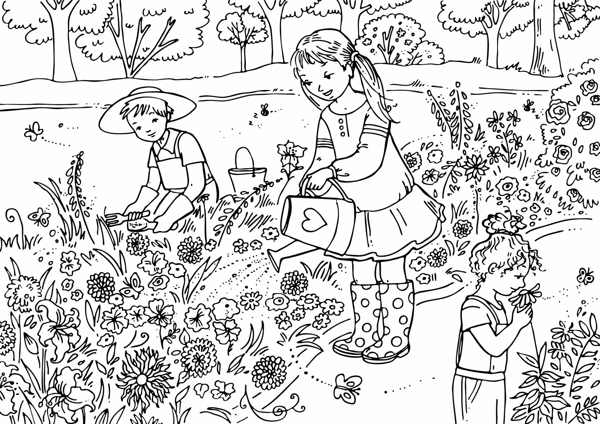 Christmas Coloring Pages Activity Village With New Best Fruit Colouring