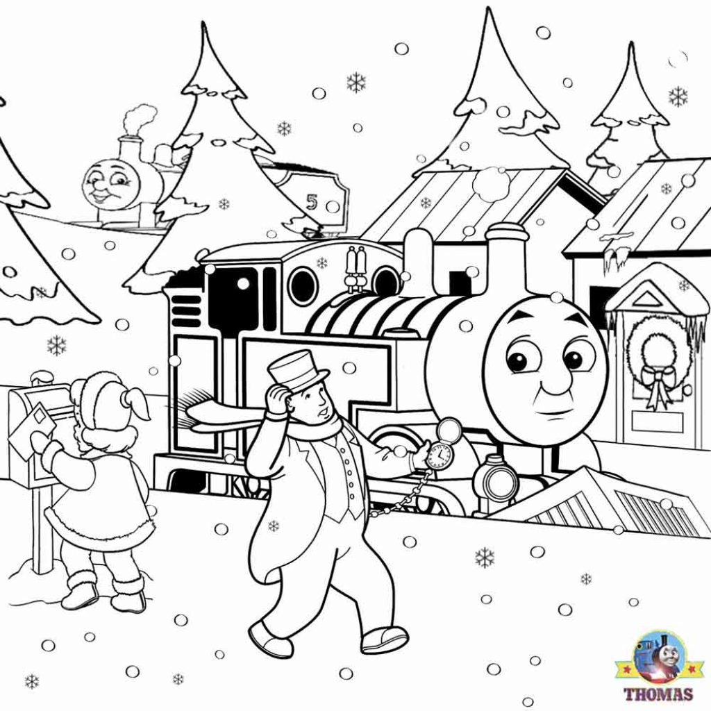 Christmas Coloring Pages Activity Village With Winter