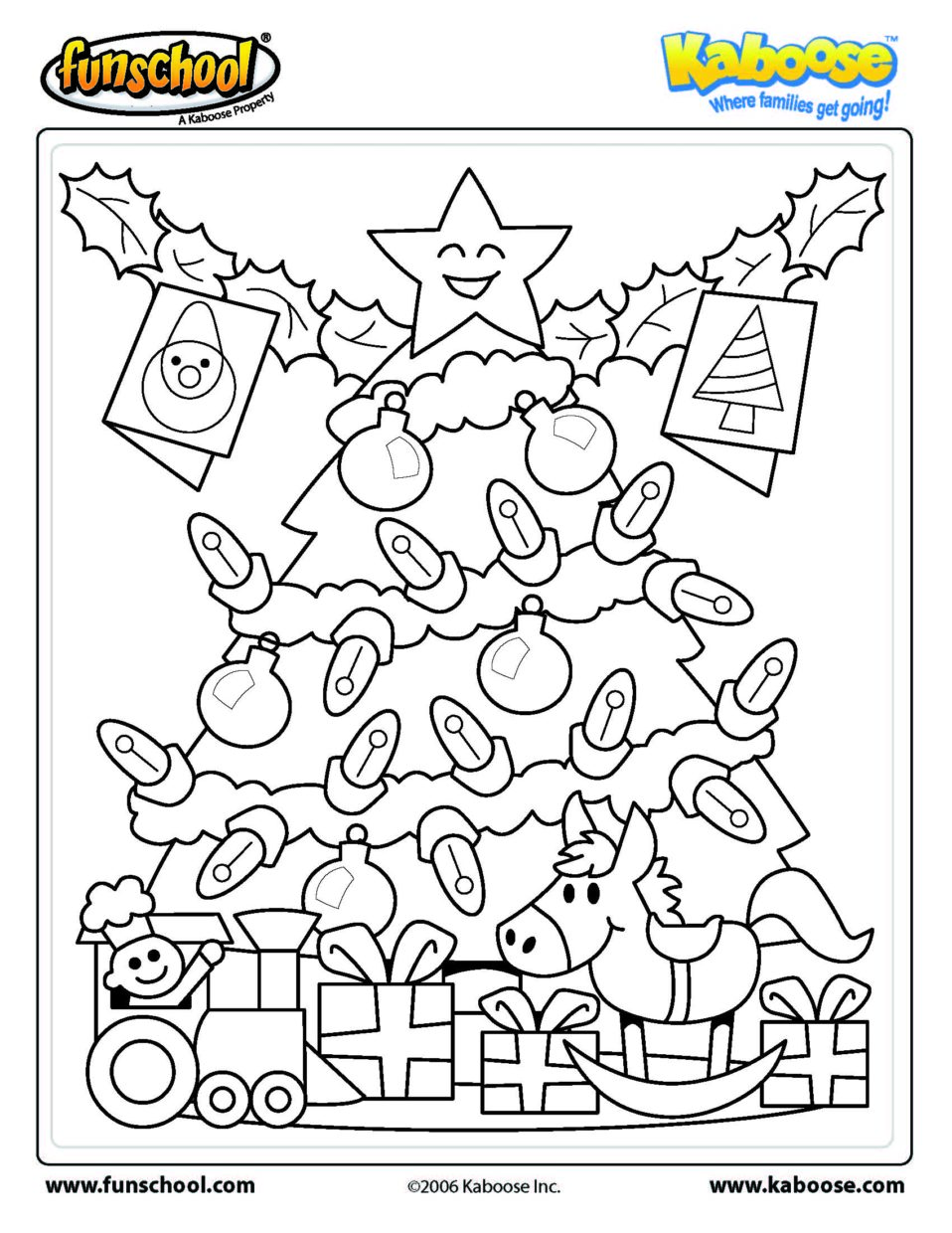Christmas Coloring Pages Addition With Math Free