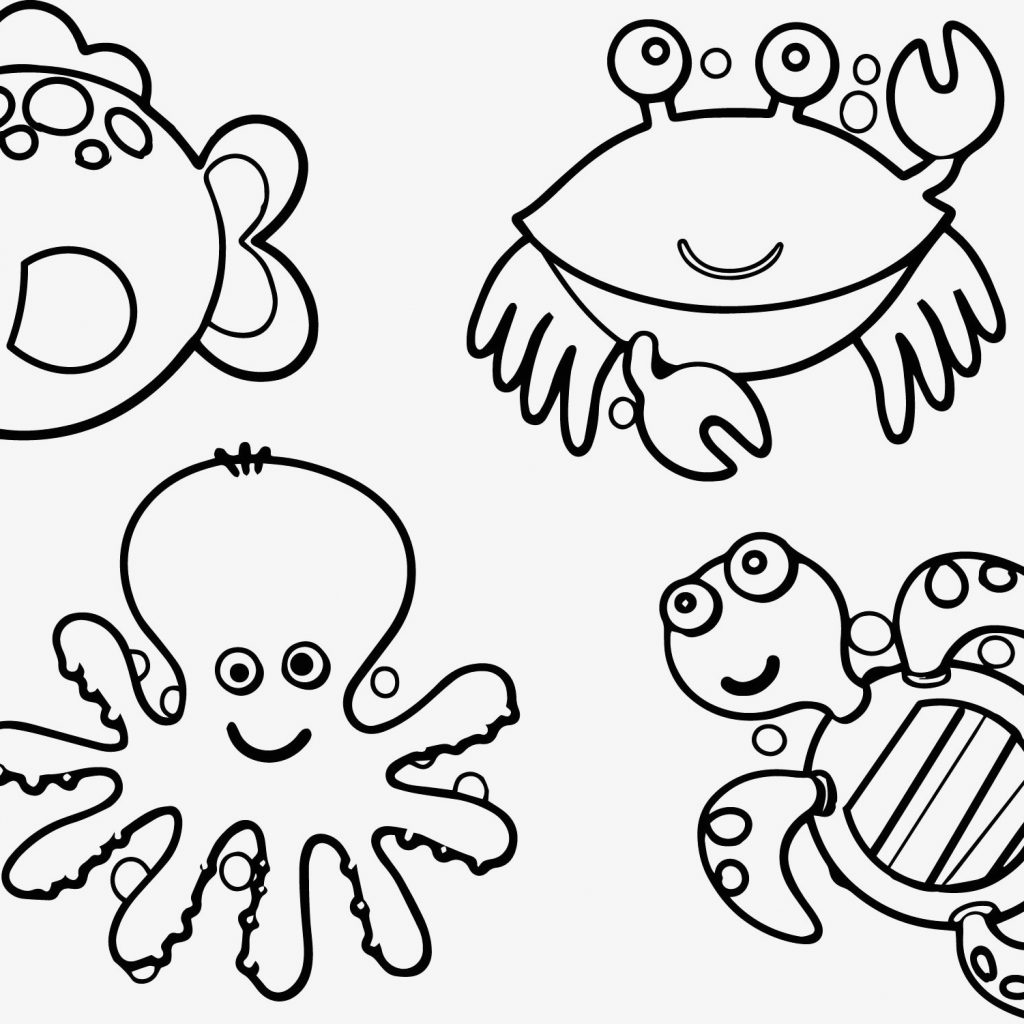 Christmas Coloring Pages Australia With Printable Sea Animals Nice For
