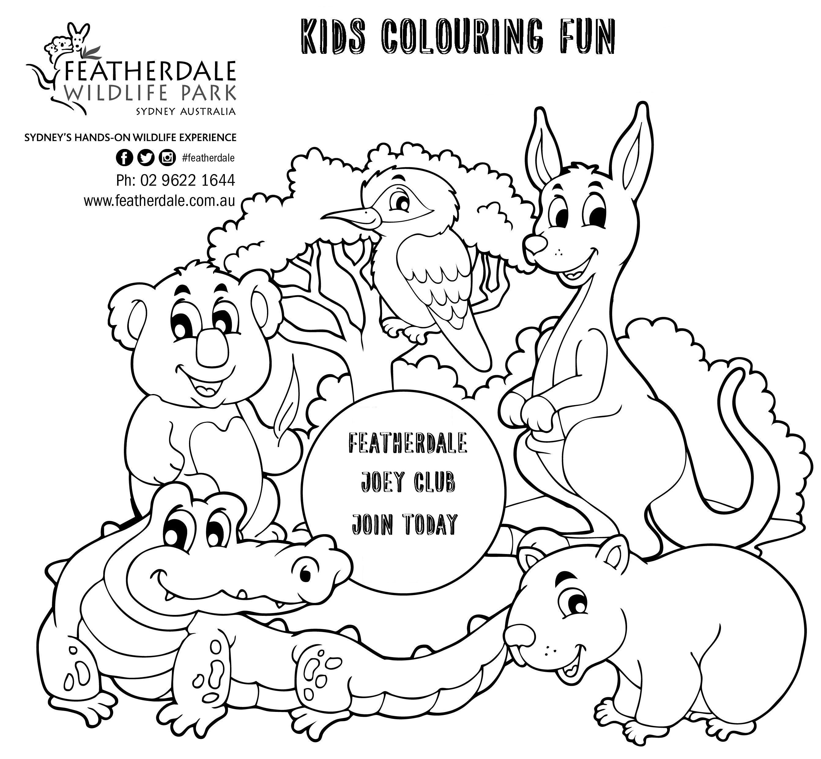 Christmas Coloring Pages Australia With
