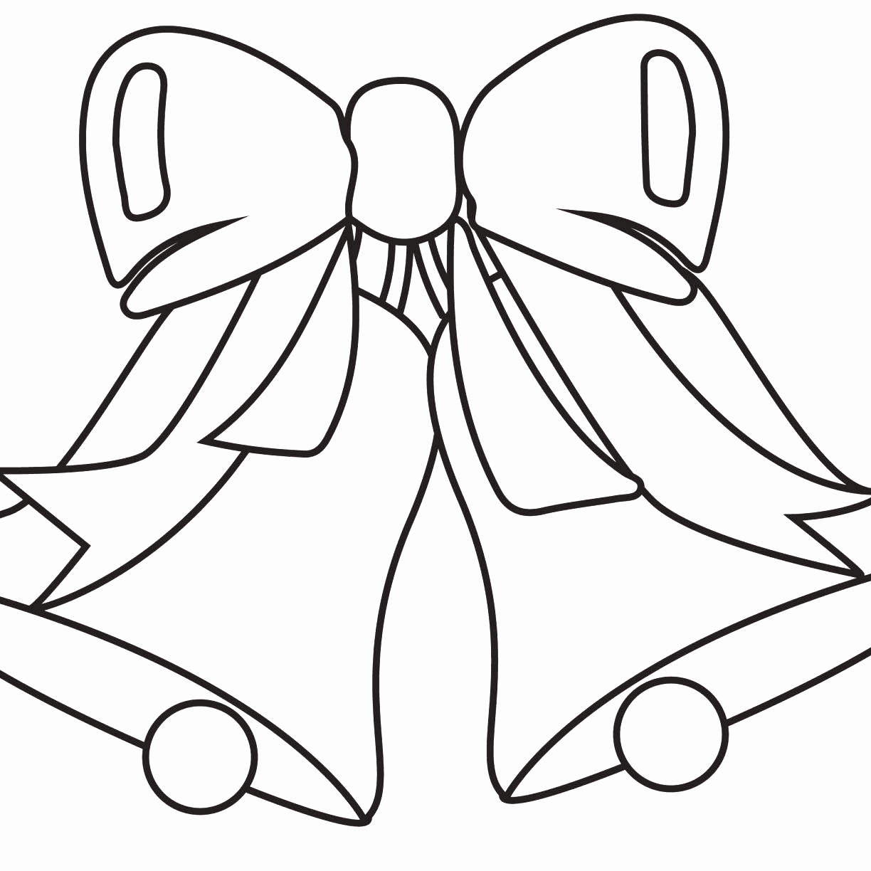 Christmas Coloring Pages Bells With Jingle Inspirational