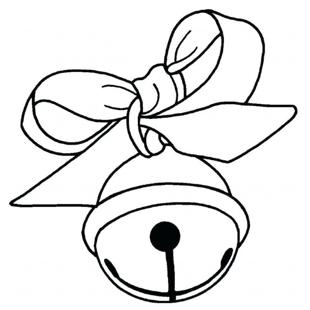 Christmas Coloring Pages Bells With Runninggames Me