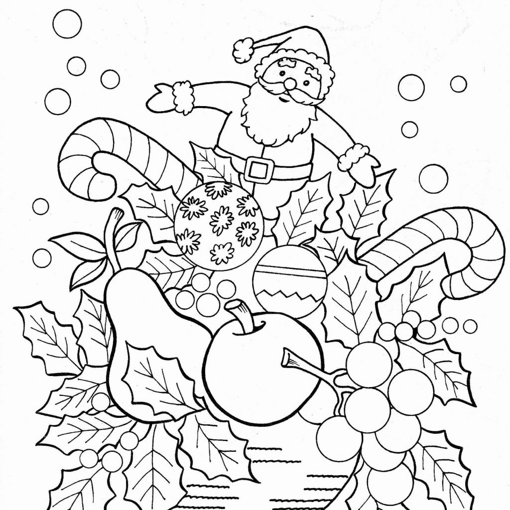 Christmas Coloring Pages By Number With For 9 Year Olds Printable Page