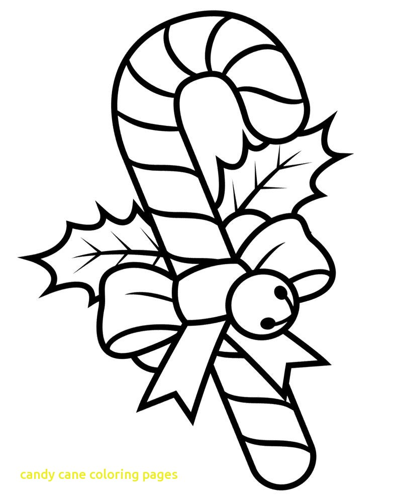 Christmas Coloring Pages Candy Cane With Dazzling Ideas Nightmare Before The