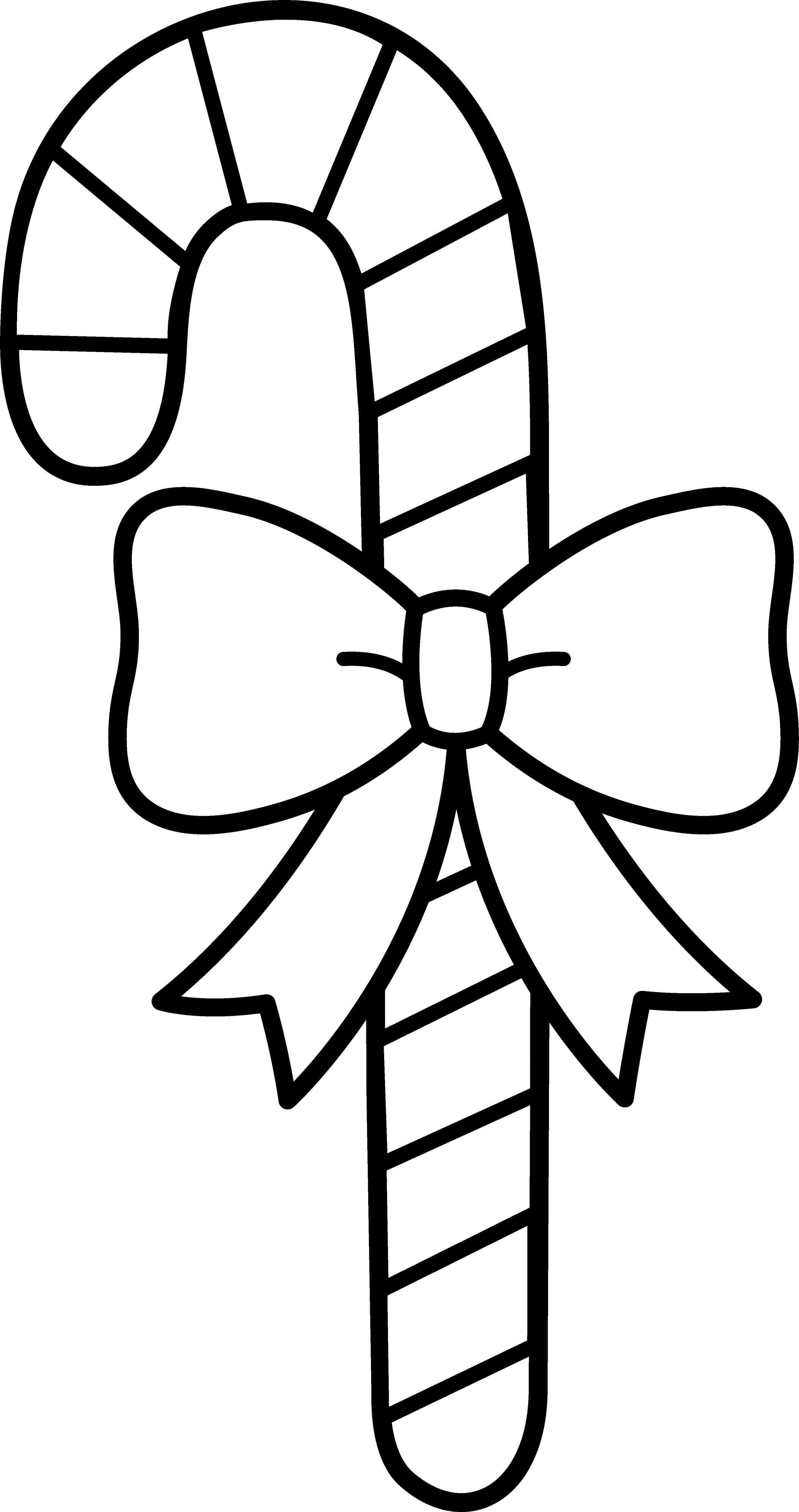 Christmas Coloring Pages Candy Cane With Of Canes Free Printable
