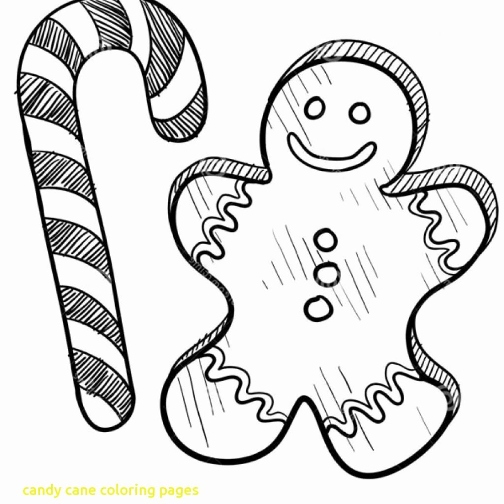 Christmas Coloring Pages Candy Cane With Of Canes Fresh Printable