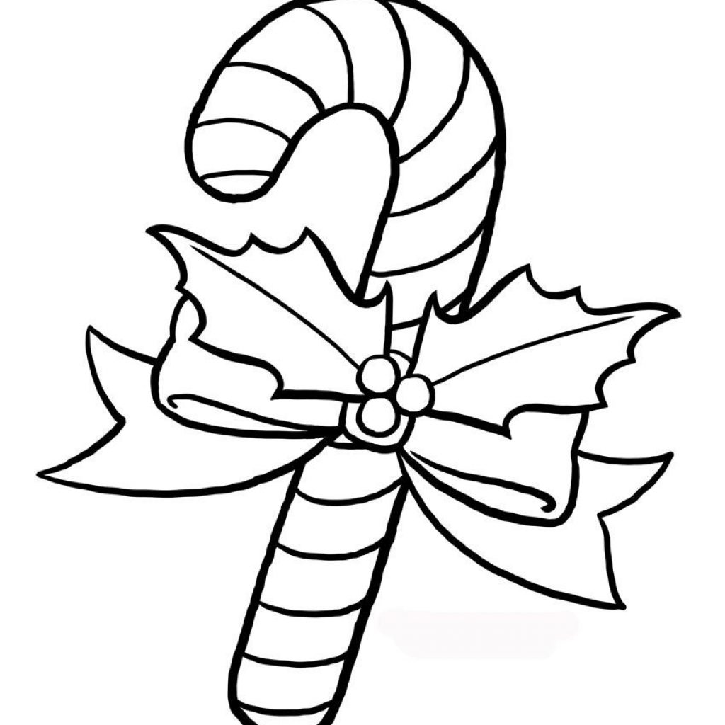 Christmas Coloring Pages Candy Cane With Sheet Printables Projects M
