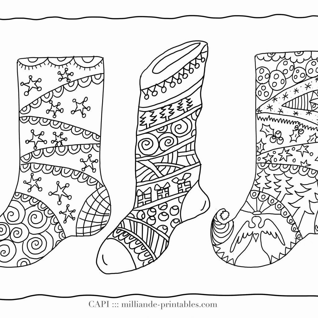Christmas Coloring Pages Cards With Card