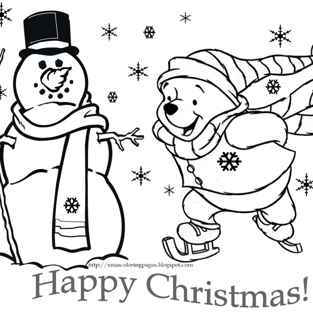 Christmas Coloring Pages Cartoon Characters With Fresh Disney Collection Printable