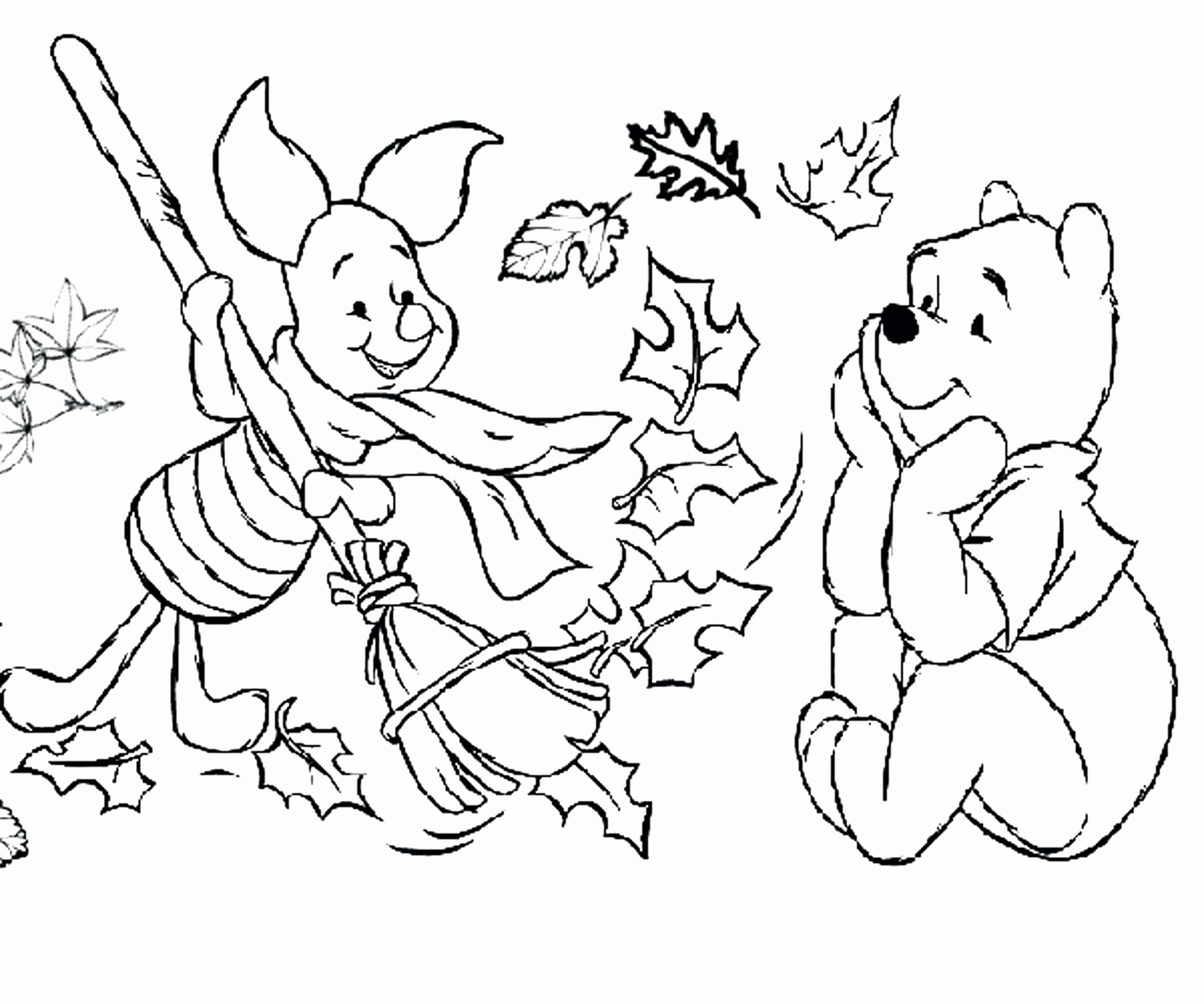 Christmas Coloring Pages Cat With Figaro Winnie The Pooh