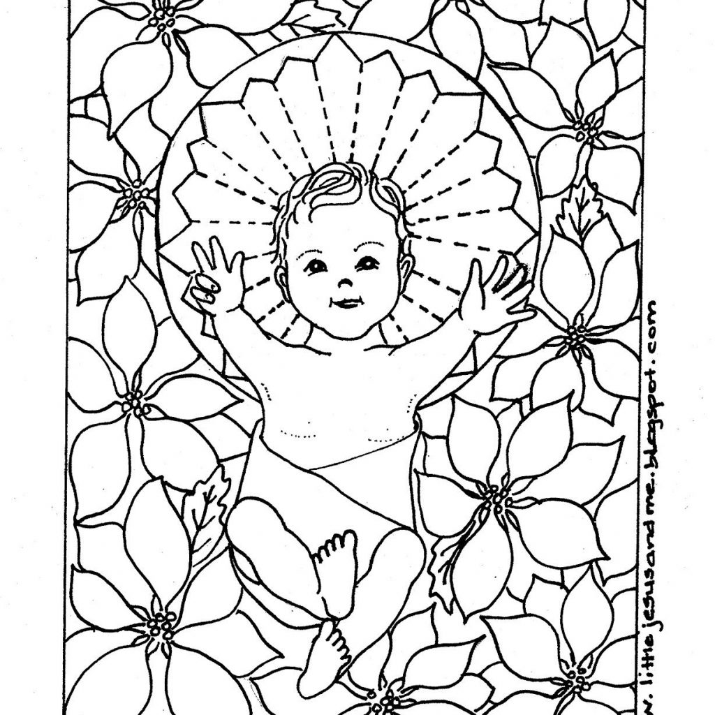 Christmas Coloring Pages Catholic With Christian Of Holy Spirit Lamb God San