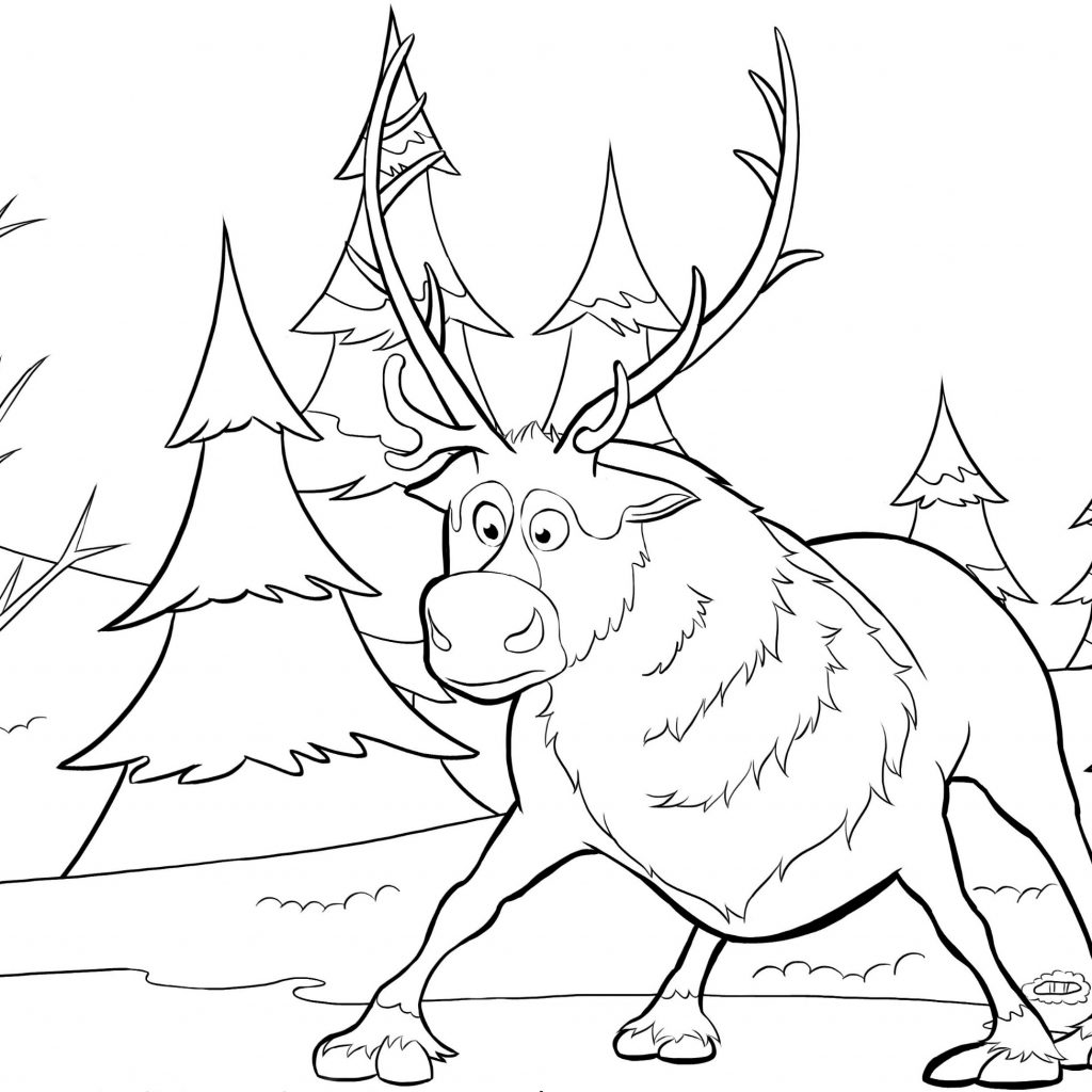 Christmas Coloring Pages Characters With