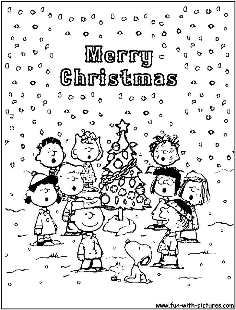 Christmas Coloring Pages Charlie Brown With Bing Images LOVE CHARLIE