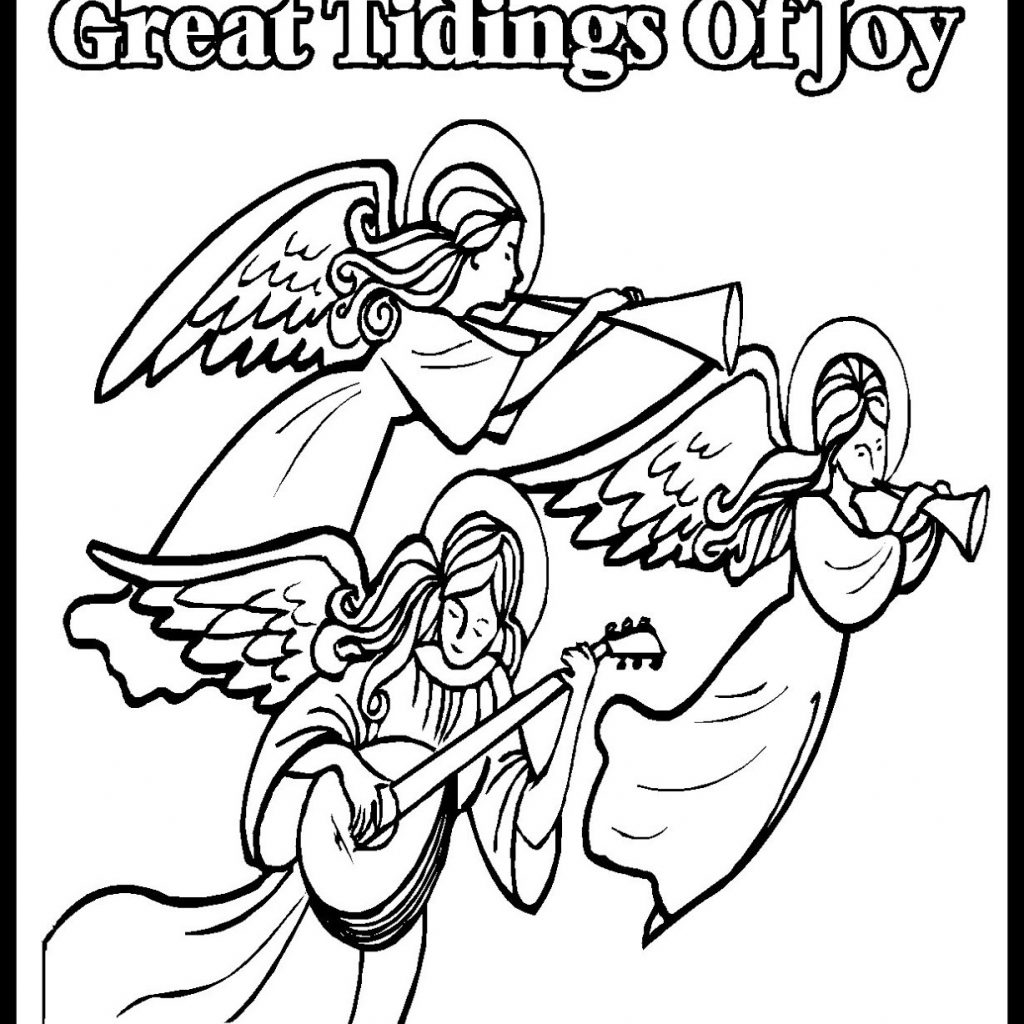 Christmas Coloring Pages Christian With Autumn Luxury Inspiring Children U Gems In