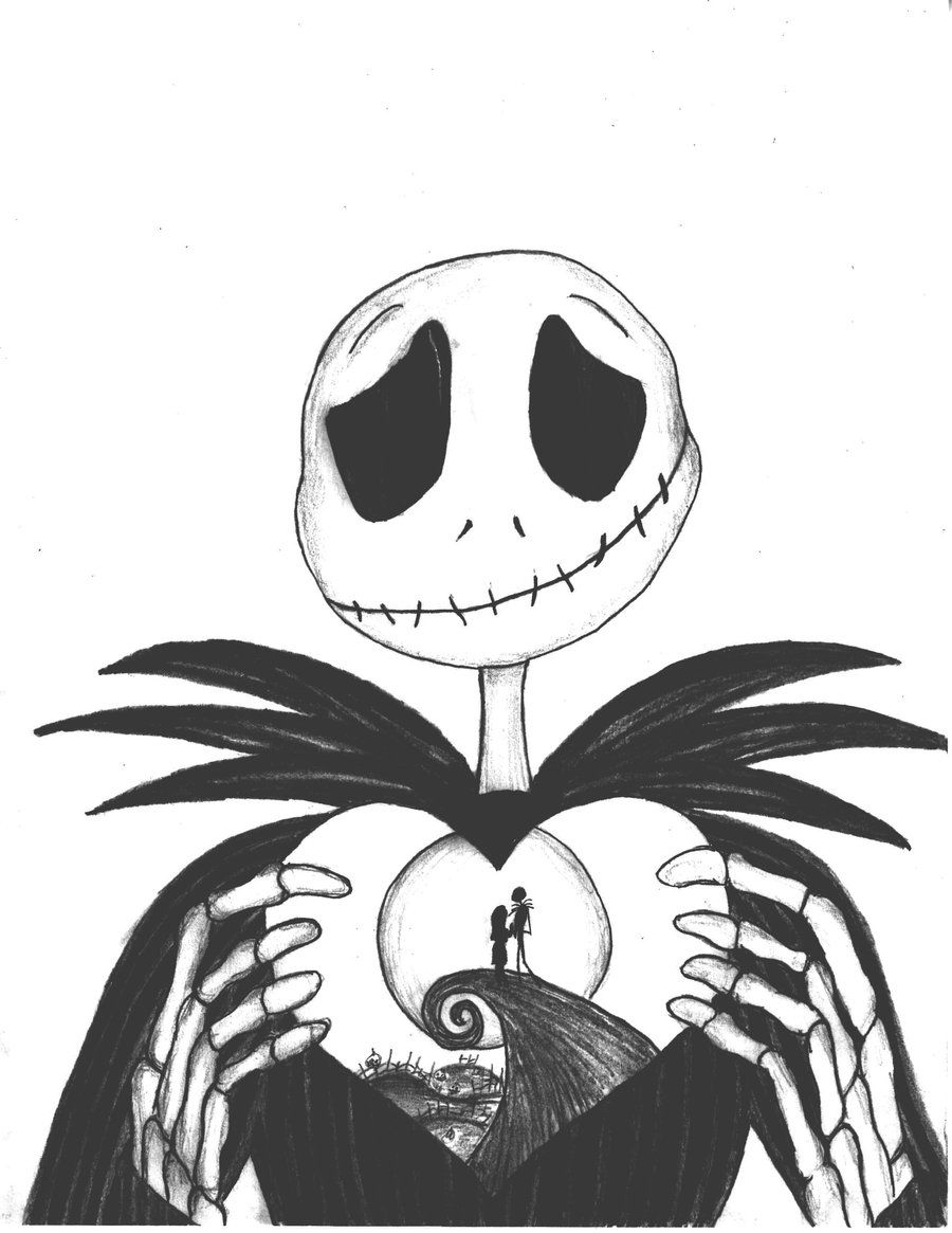 Christmas Coloring Pages Clip Art With Nightmare Before Clipart The