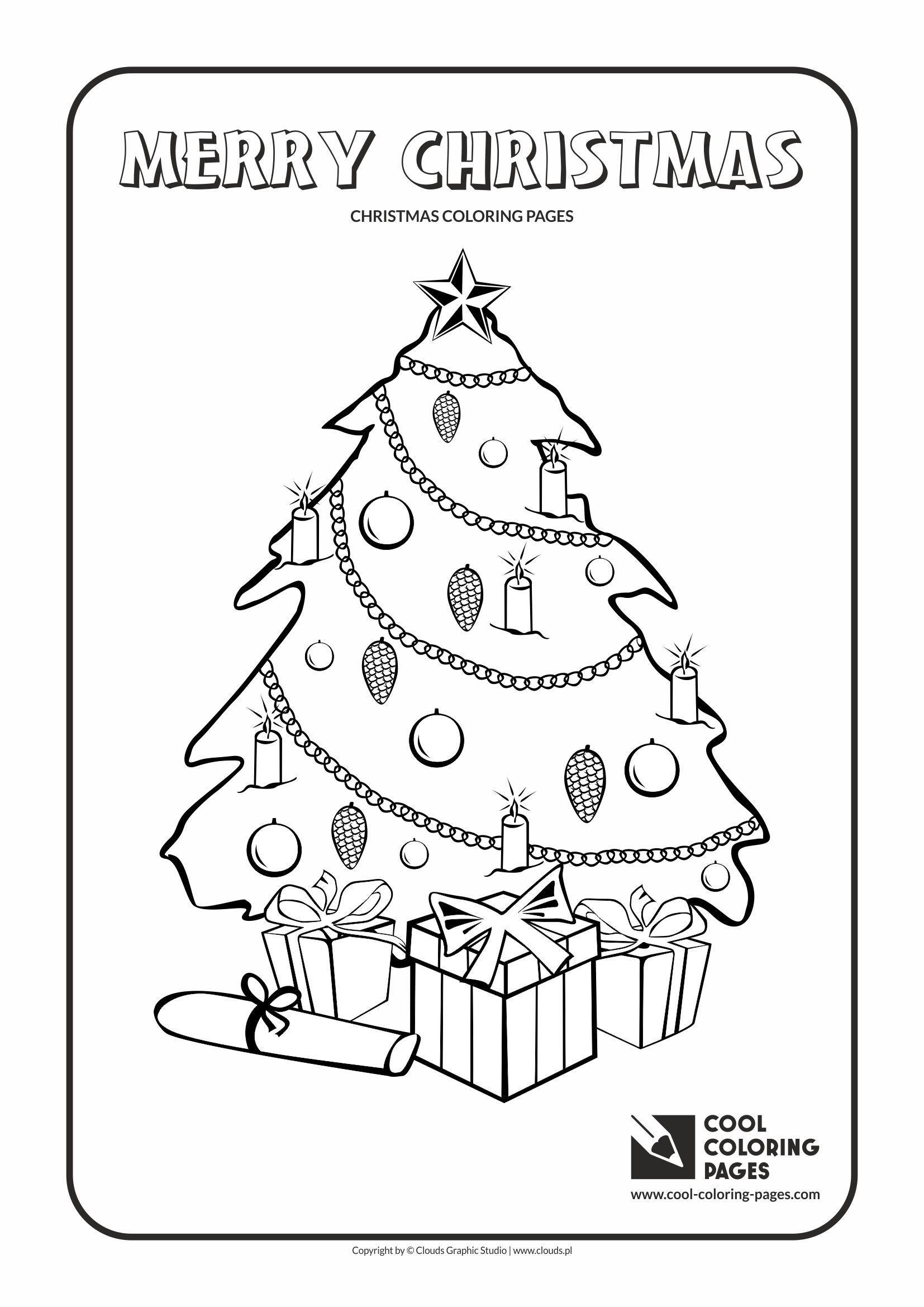 Christmas Coloring Pages Com With Cool