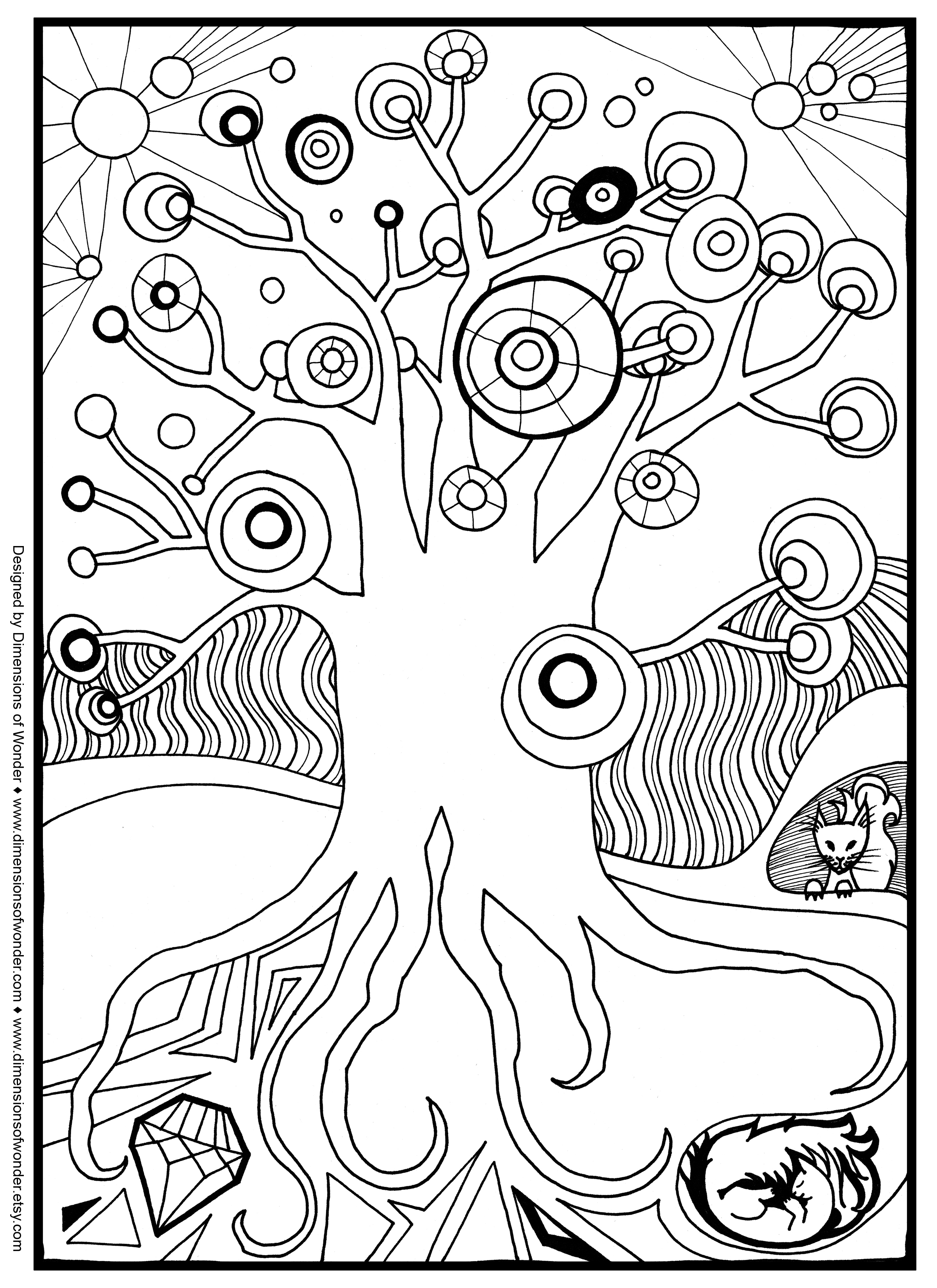Christmas Coloring Pages Com With Free For Middle School Collection In
