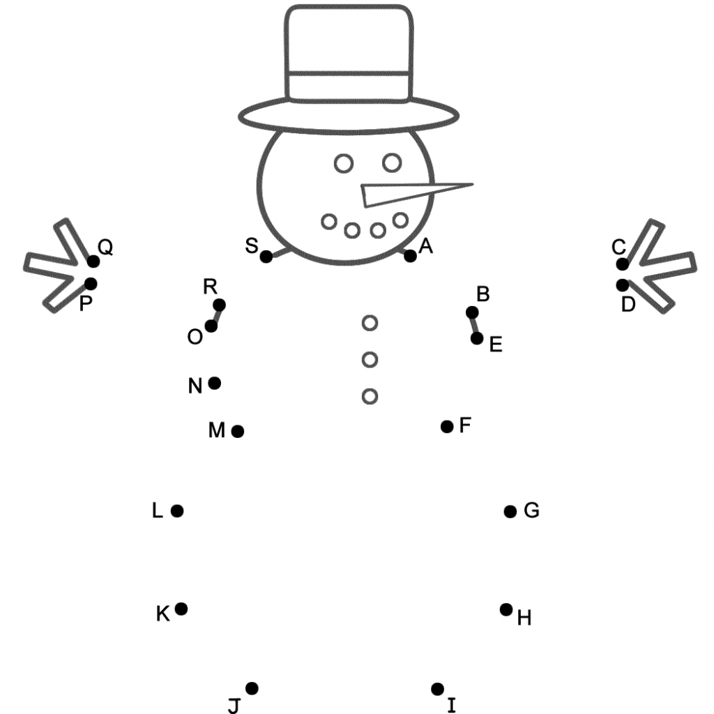 Christmas Coloring Pages Connect Dots With 7 Pics Of The