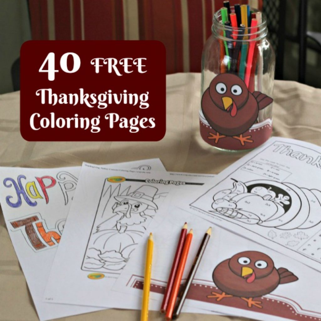 Christmas Coloring Pages Cut And Paste With 40 FREE Thanksgiving For Adults Kids Edventures