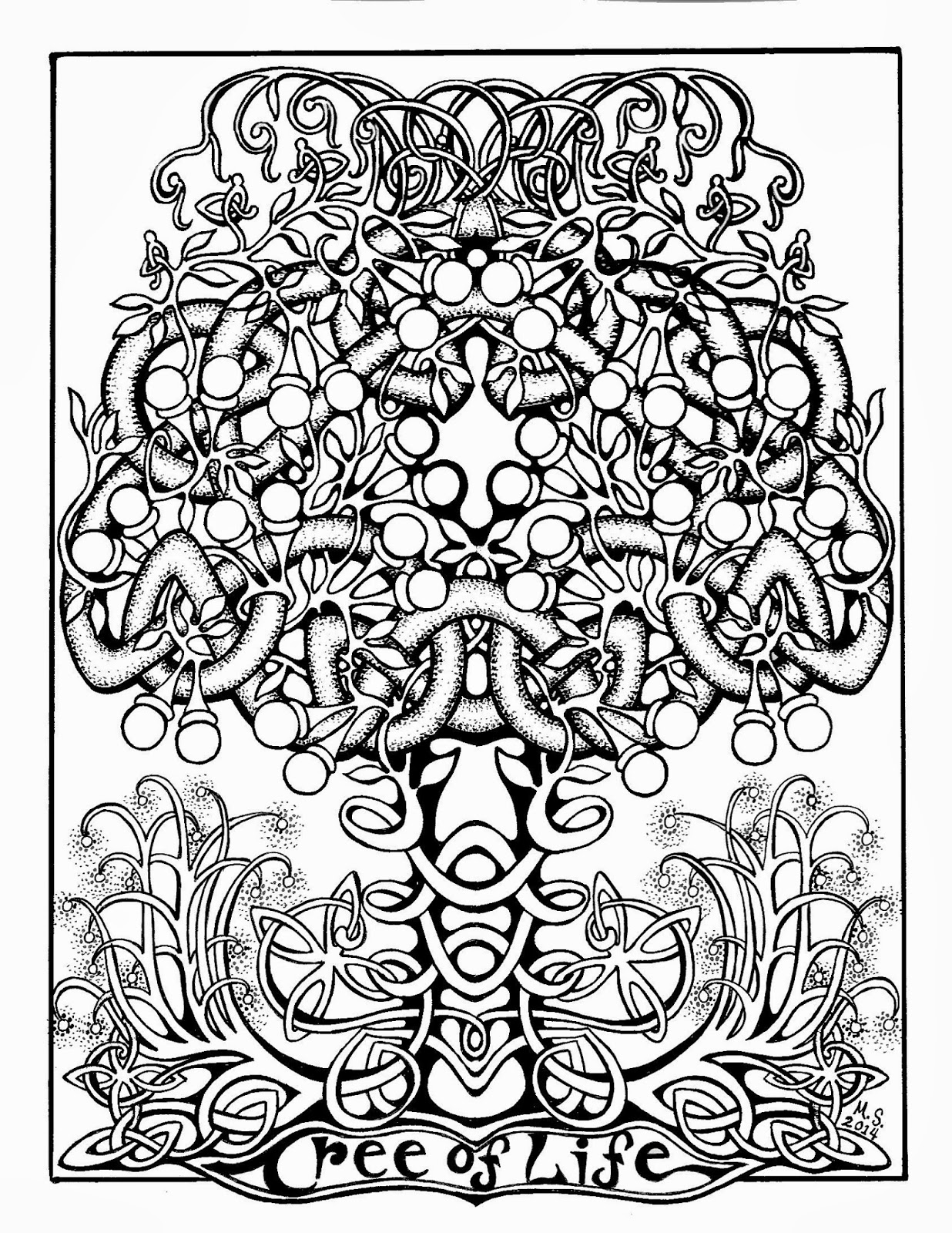 Christmas Coloring Pages Cut And Paste With Serendipity Hollow Page For March 2014