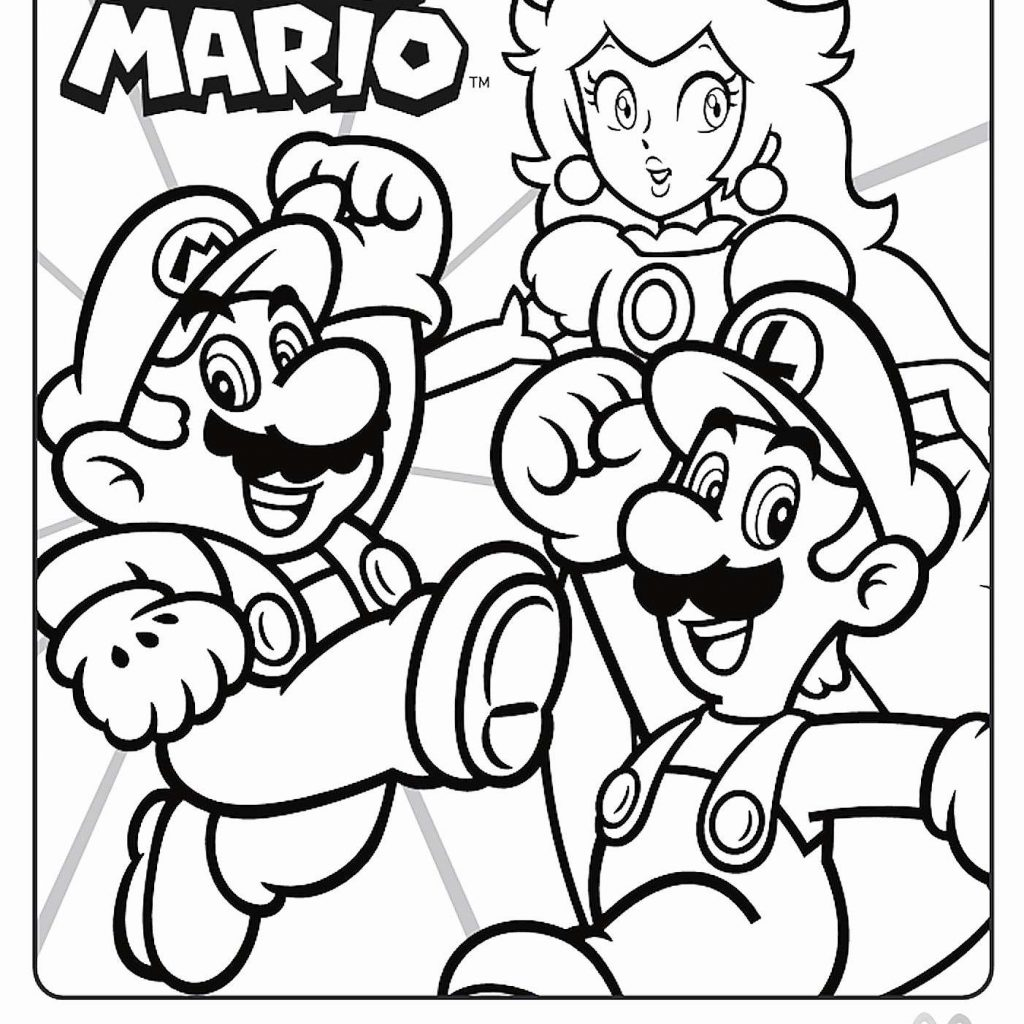 Christmas Coloring Pages Cute With Super Free
