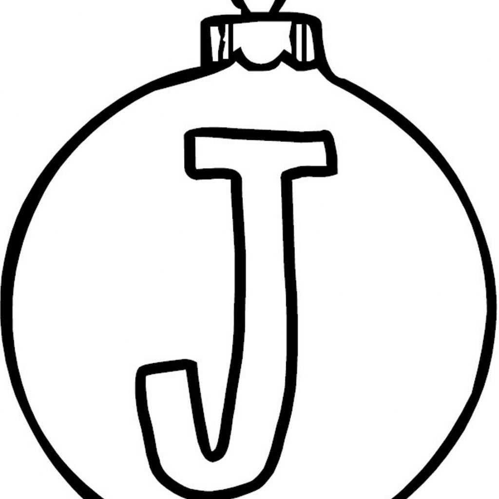 Christmas Coloring Pages Decorations With Printable Ornament Download For Kids