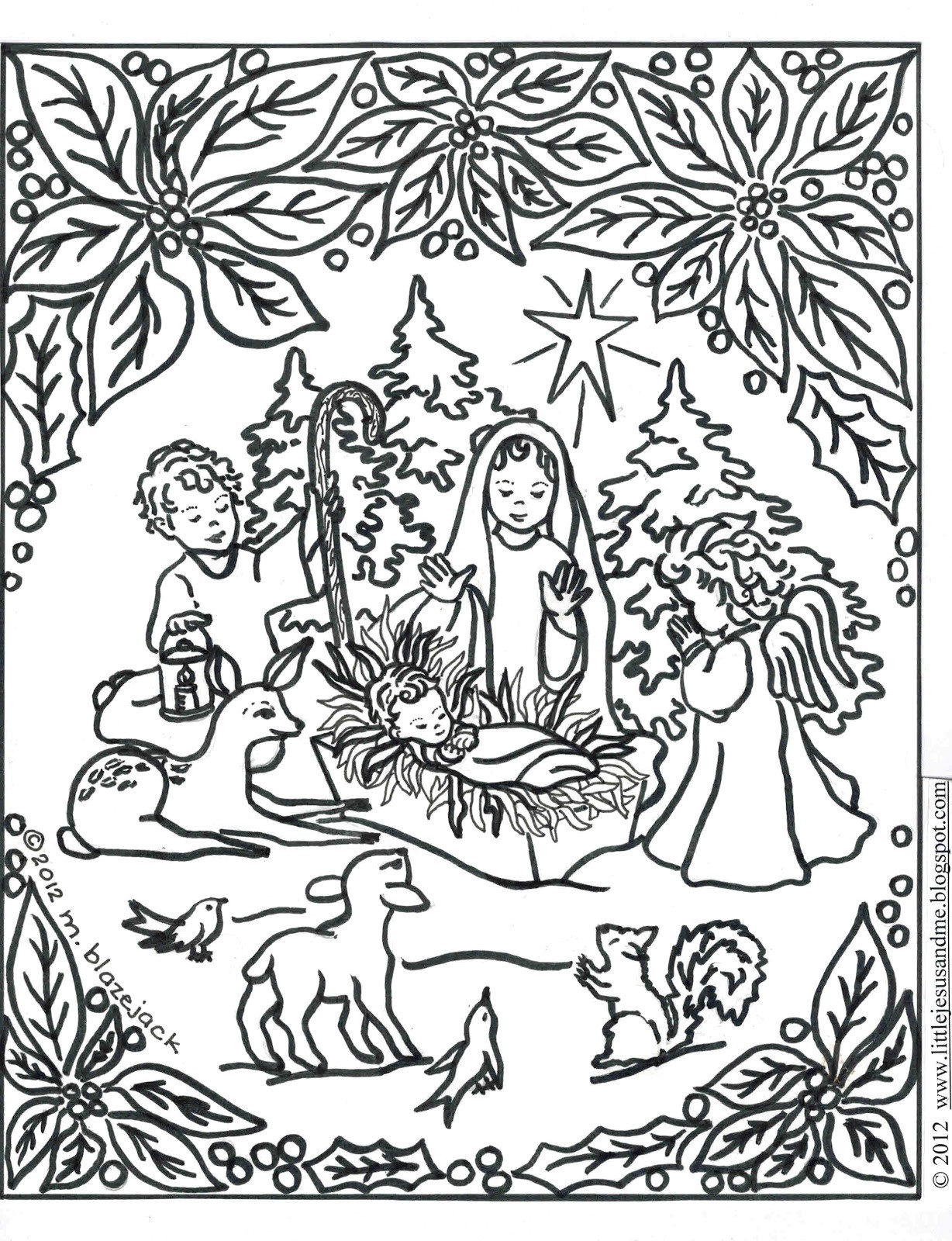 Christmas Coloring Pages Difficult For Adults With Refrence