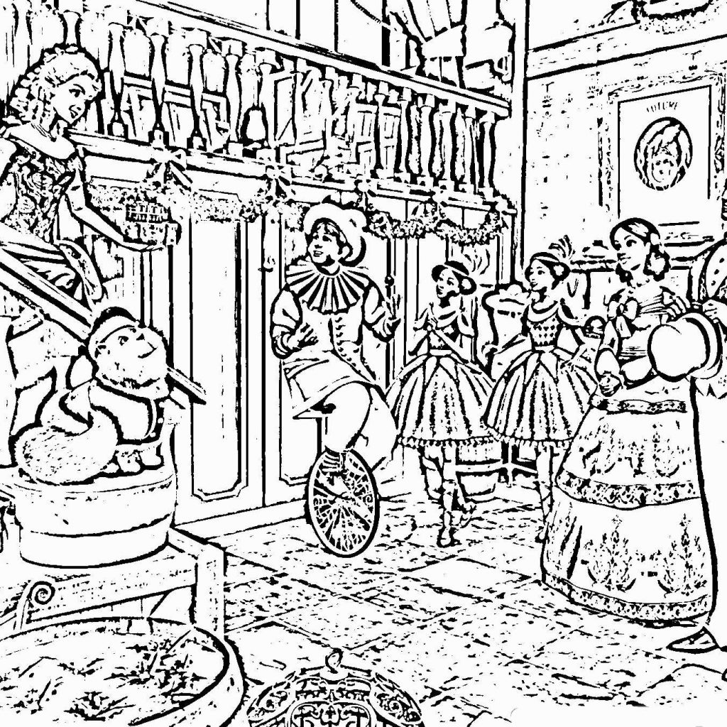 Christmas Coloring Pages Difficult With For Adults Great 34 New