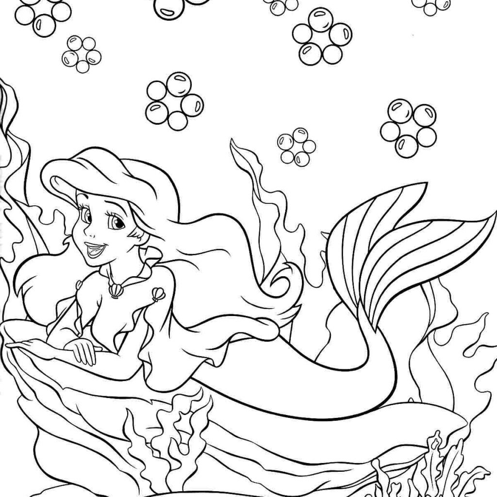 Christmas Coloring Pages Disney Princess With Pin By Yooper Girl On Color Sea Mermaid Pinterest