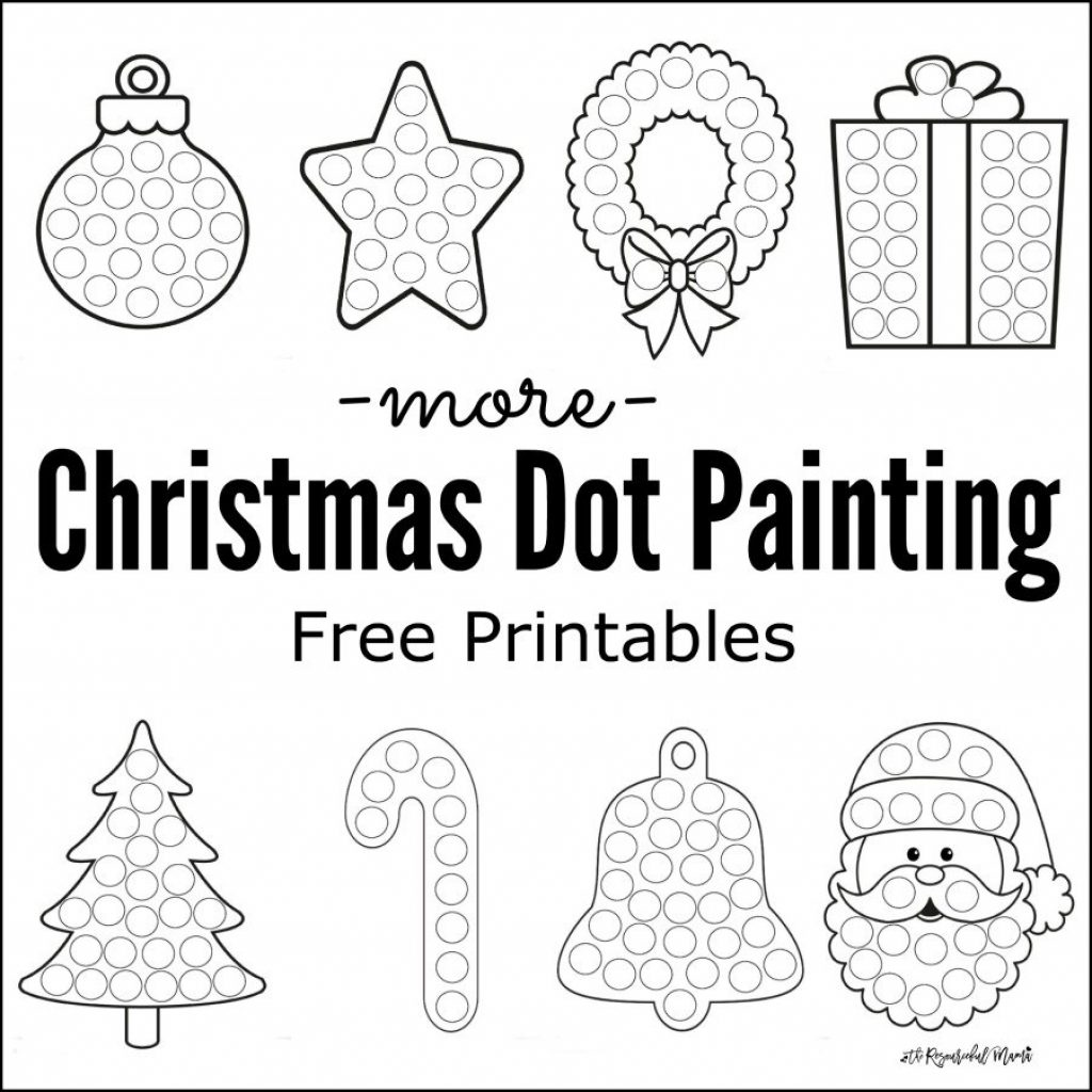 christmas-coloring-pages-dot-to-with-more-painting-free-printables-the-resourceful-mama
