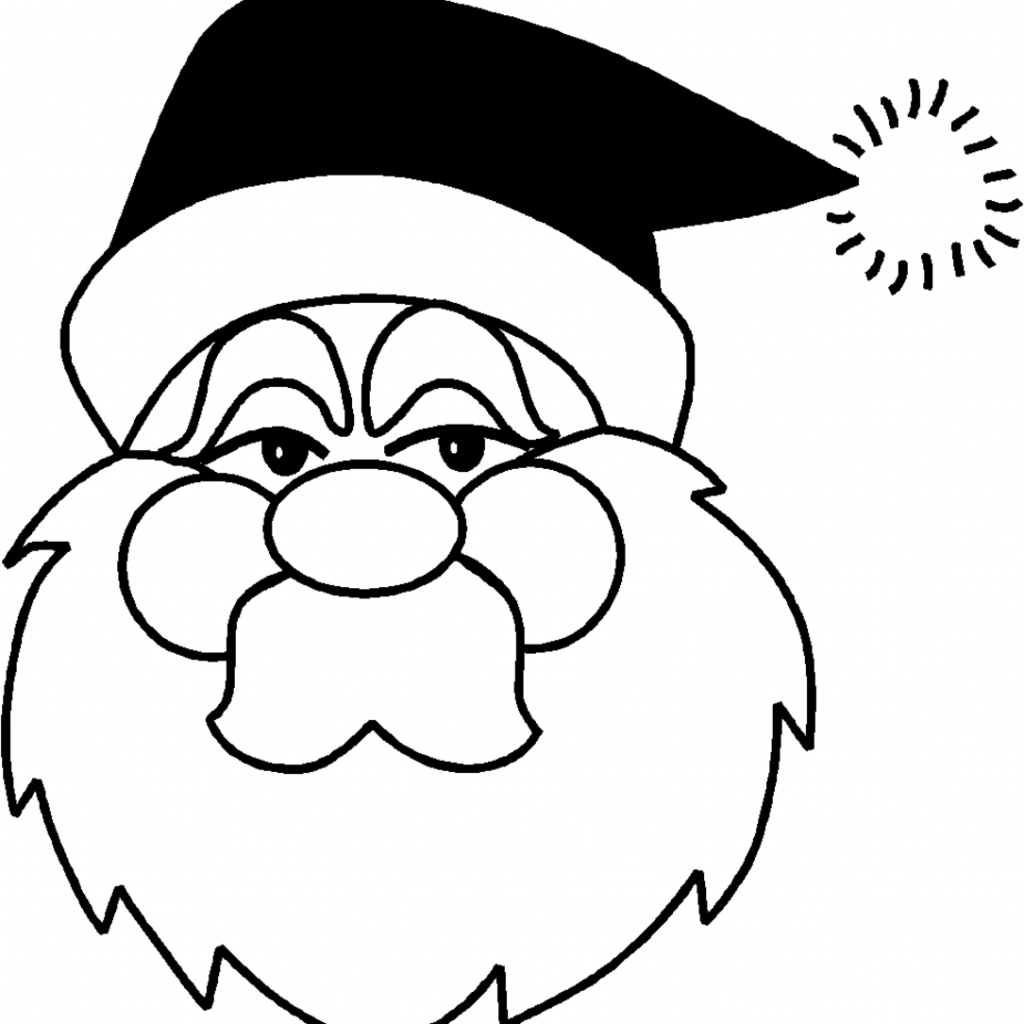 Christmas Coloring Pages Easy With For Toddlers Home