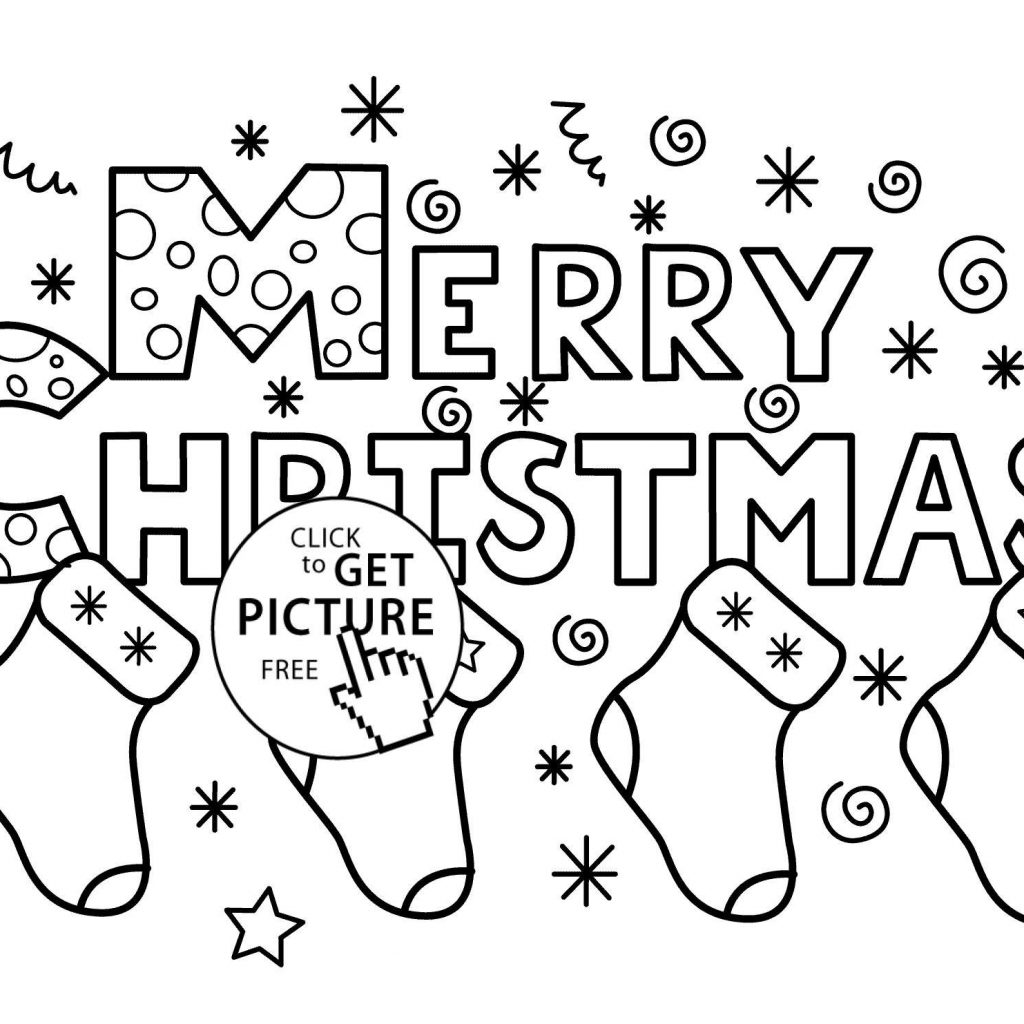 Christmas Coloring Pages Easy With Sheets New Free