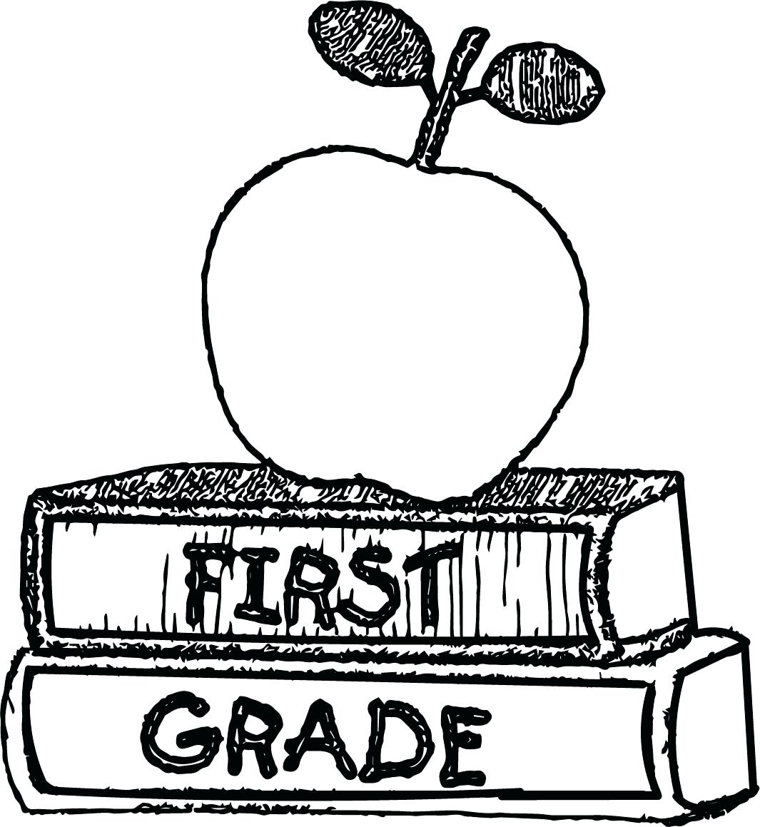 Christmas Coloring Pages First Grade With 1st Free Download Best