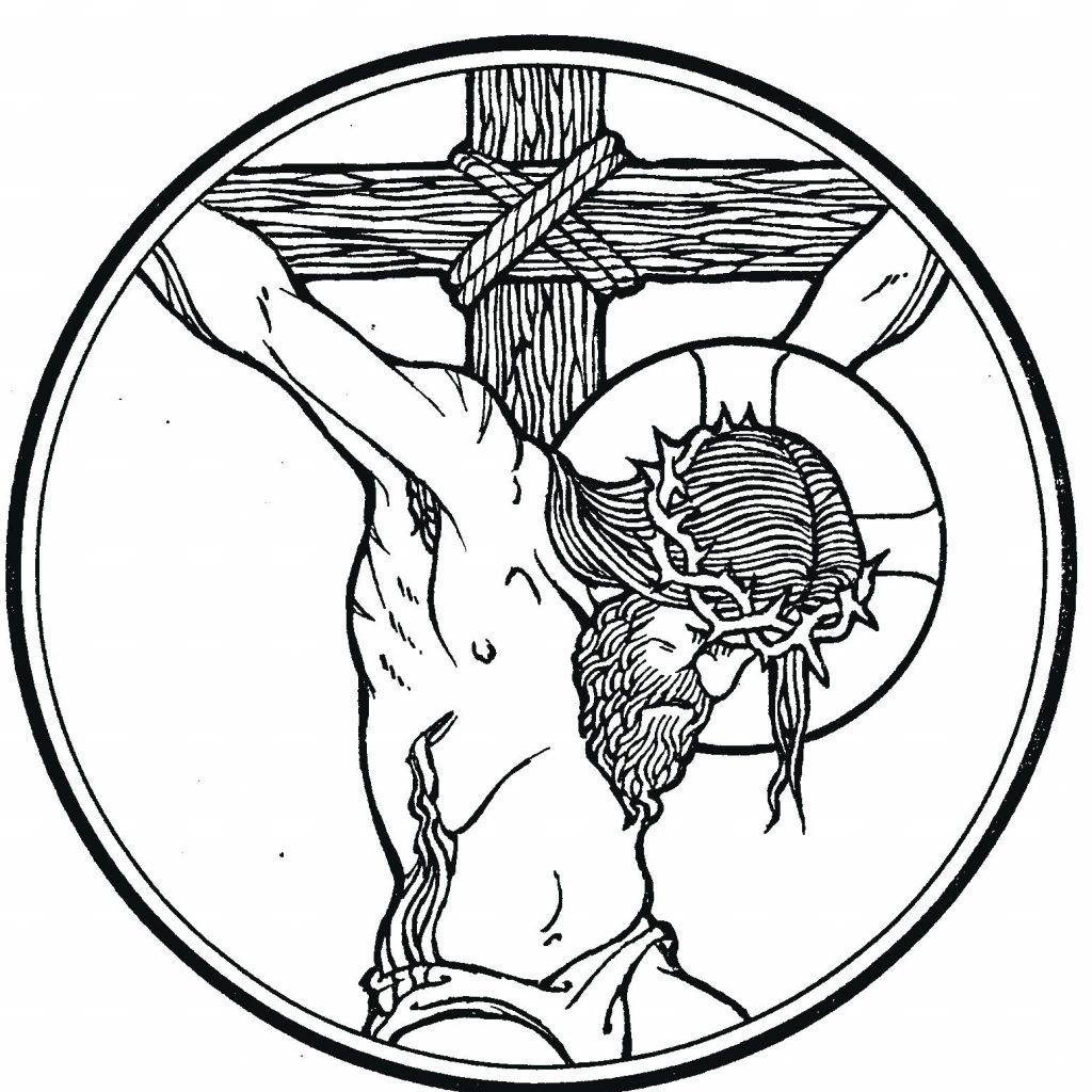 Christmas Coloring Pages For 11 Year Olds With Jesus Died On The Cross