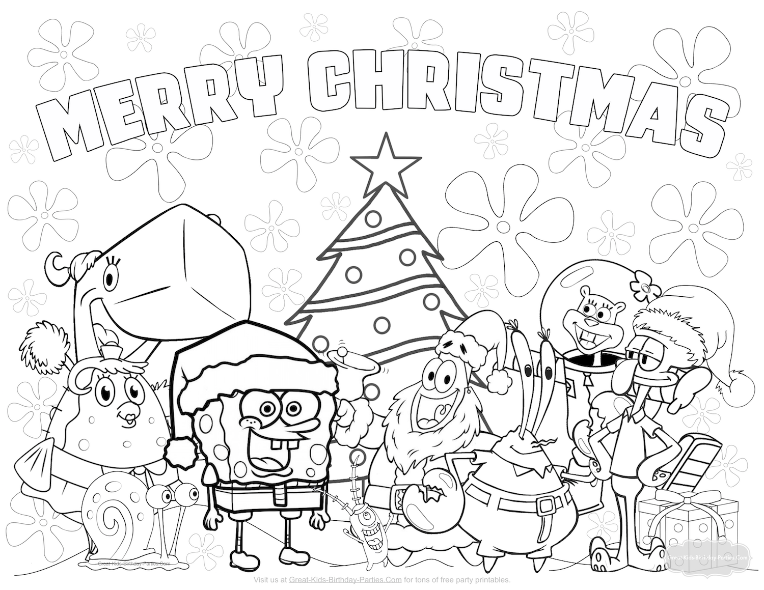 Christmas Coloring Pages For 2 Year Olds With