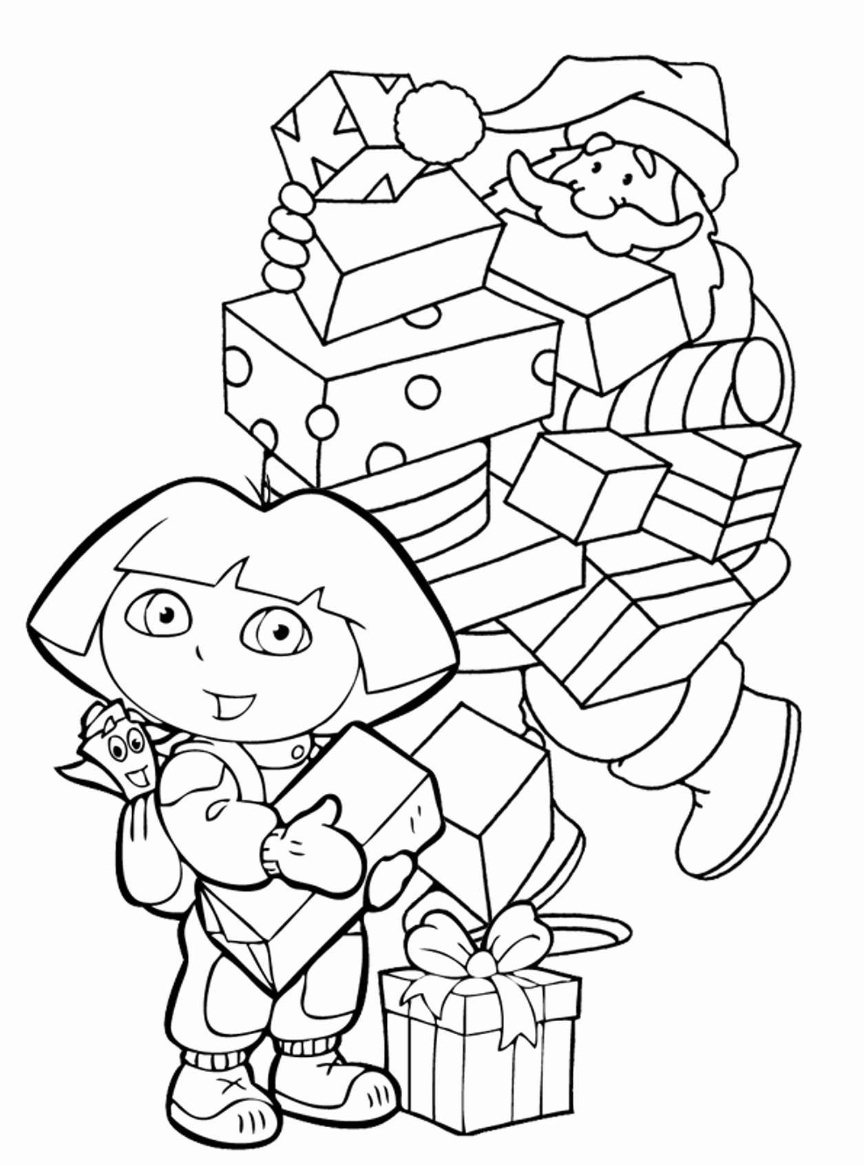 Christmas Coloring Pages For 2nd Grade With Free Addition