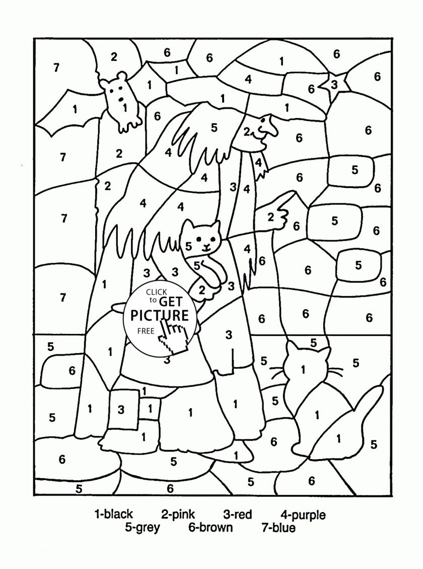Christmas Coloring Pages For 2nd Grade With Halloween Addition Page Free Worksheets Math