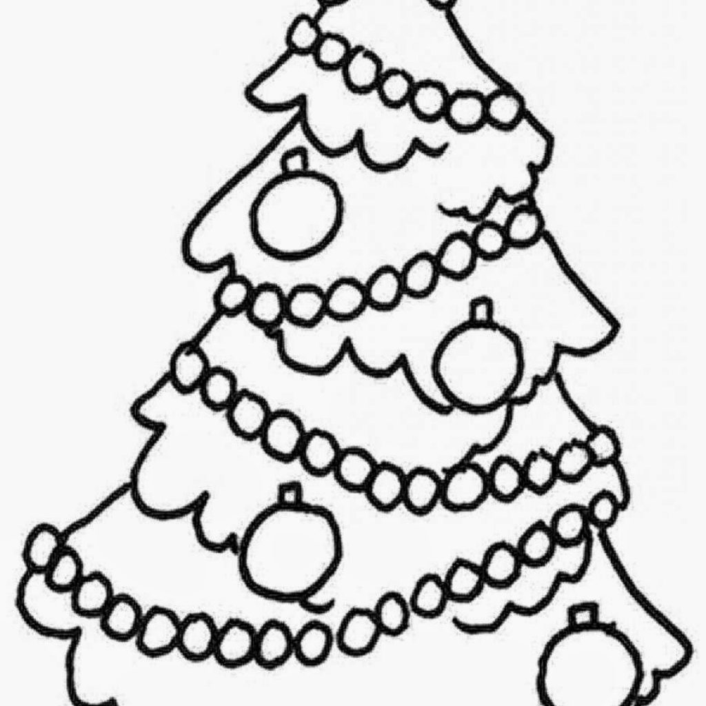 Christmas Coloring Pages For 3 Year Olds With