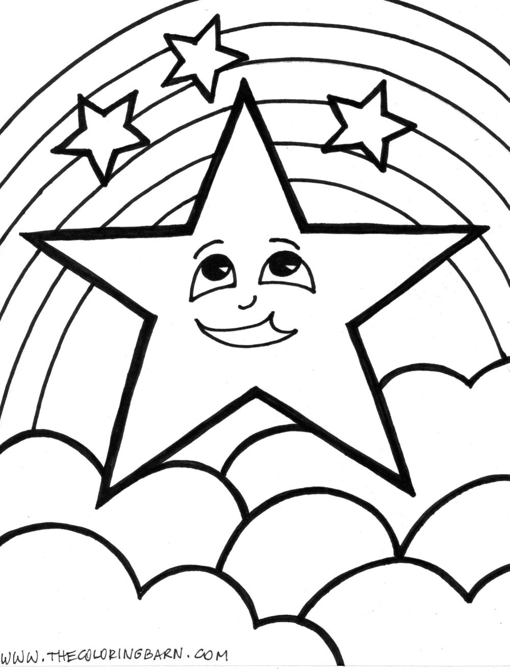 Christmas Coloring Pages For 3 Year Olds With Star Fresh Of A Stars Page 11 Jovie Co