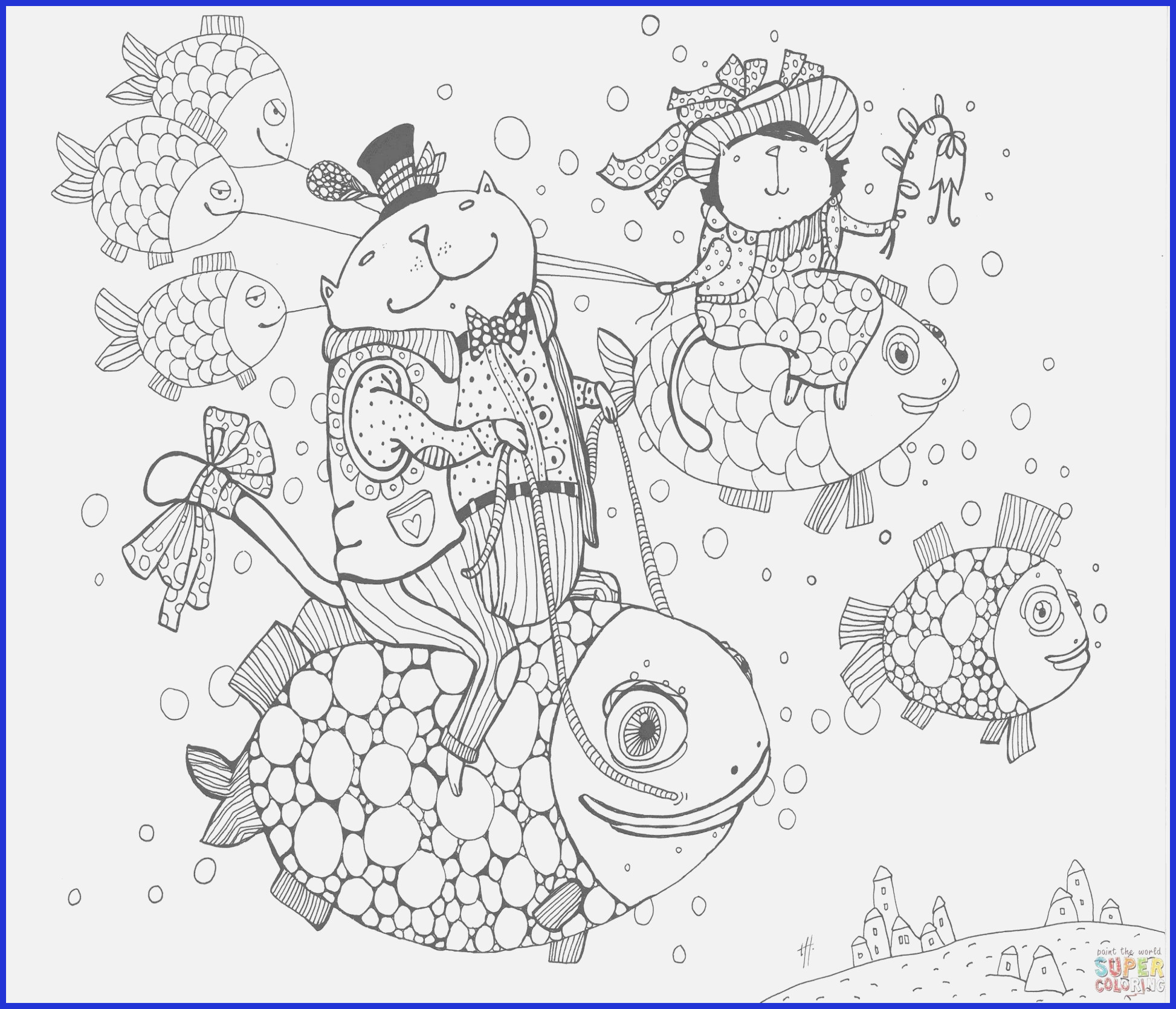 Christmas Coloring Pages For 3rd Graders With 49 Scene Printable