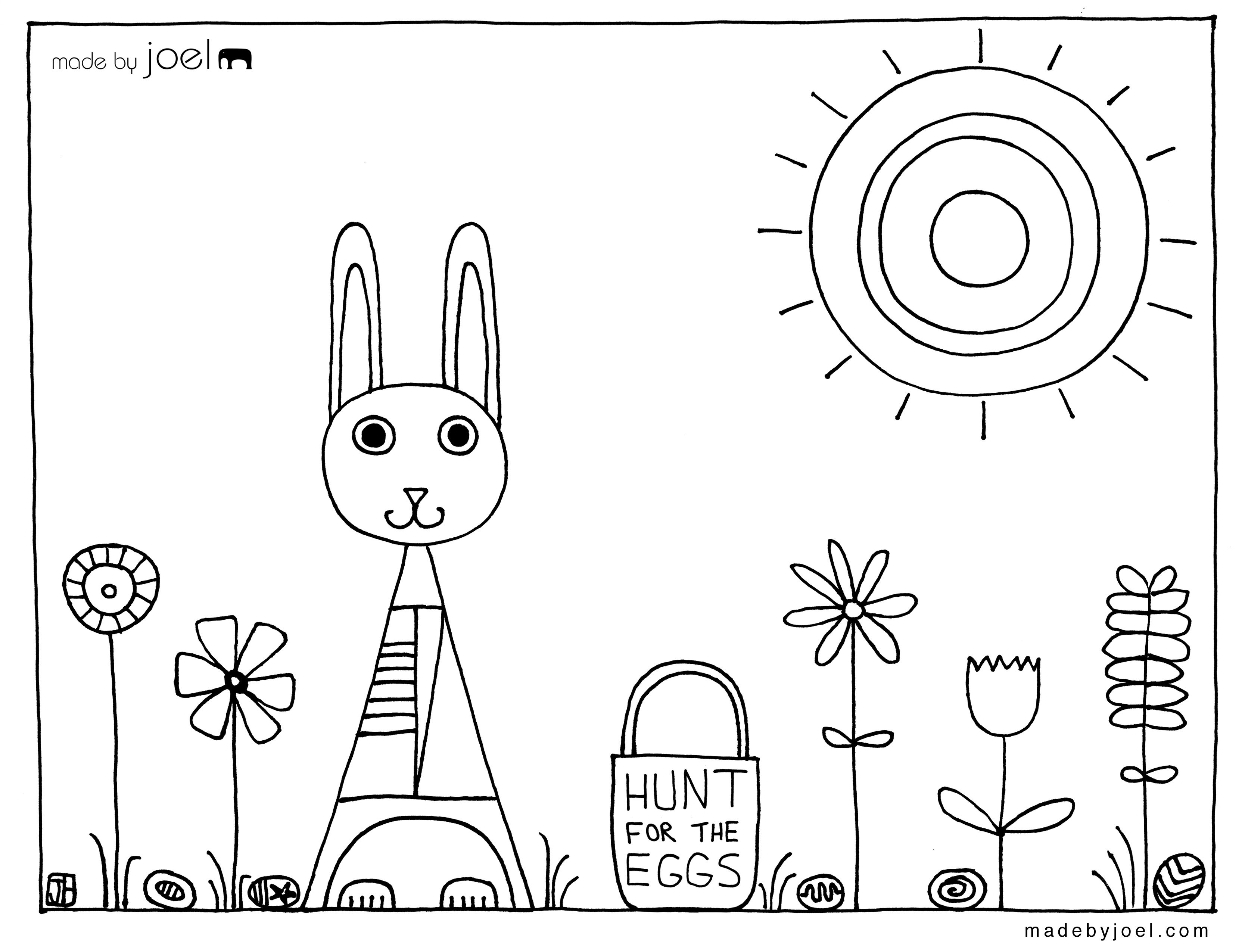Christmas Coloring Pages For 4 Year Olds With Made By Joel Free Sheets
