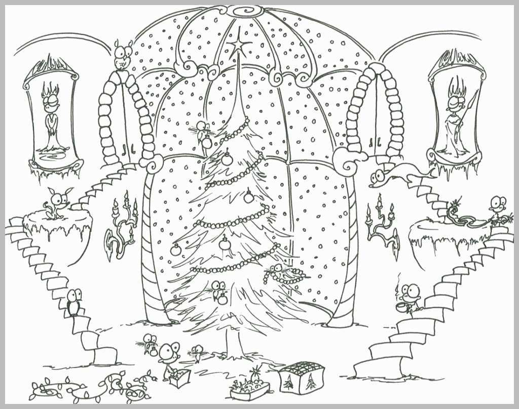 Christmas Coloring Pages For Adults Free With Hard And Happy