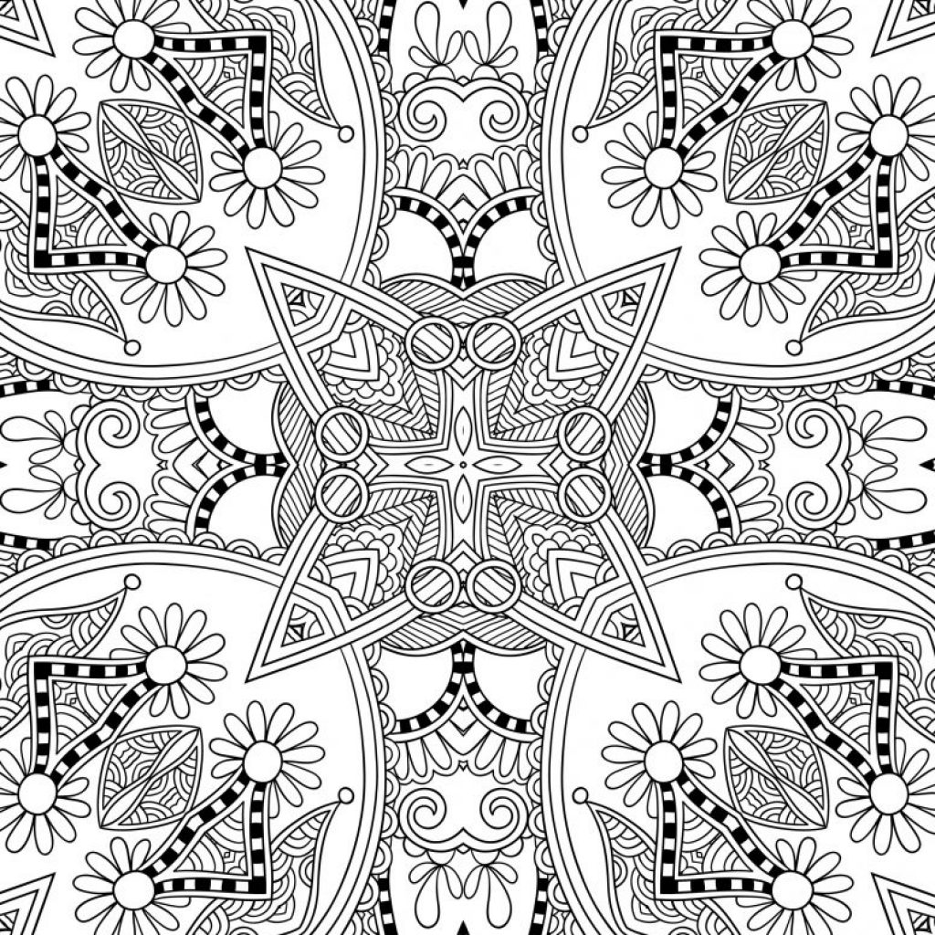 Christmas Coloring Pages For Adults Printable With Uncategorized Free All About