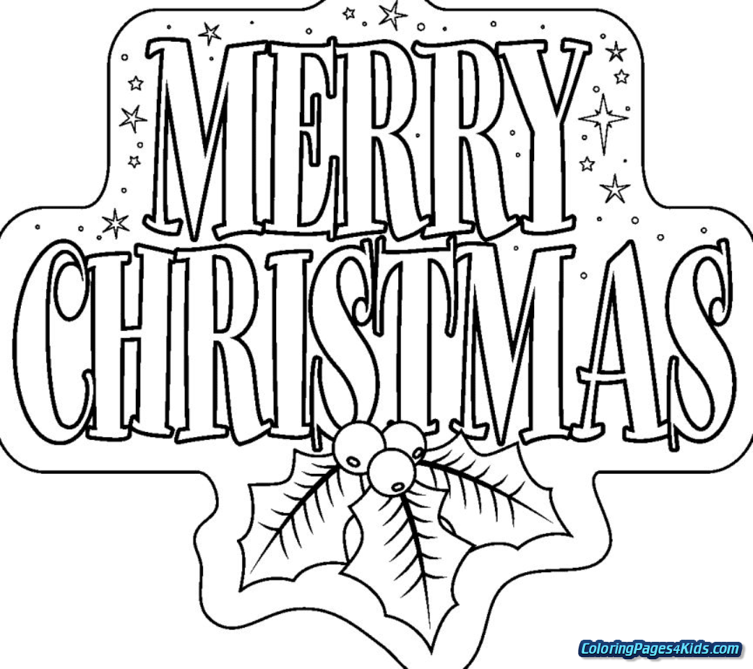 Christmas Coloring Pages For Adults With Kids