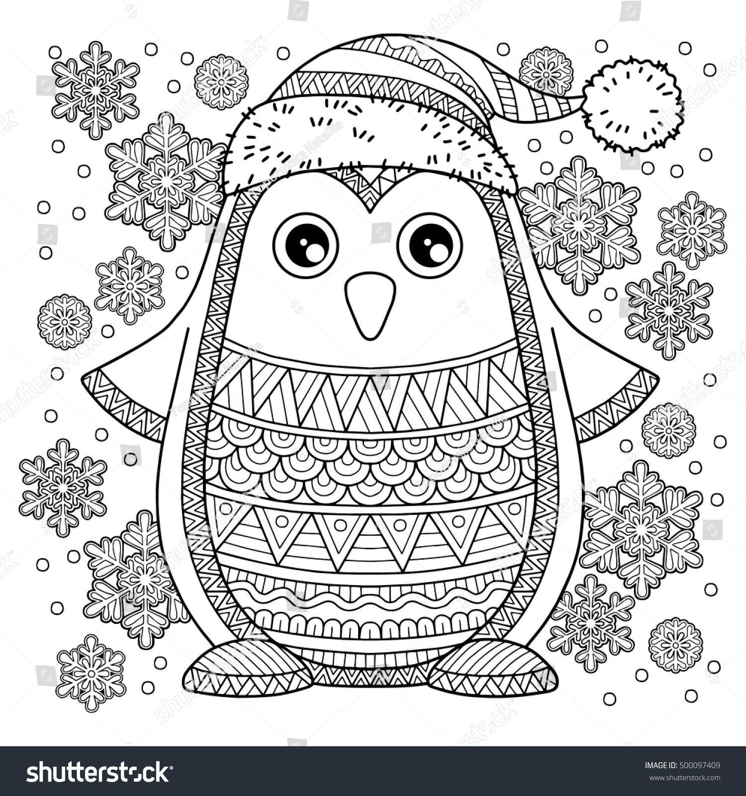 Christmas Coloring Pages For Cards With Greeting Refrence Merry Jolly