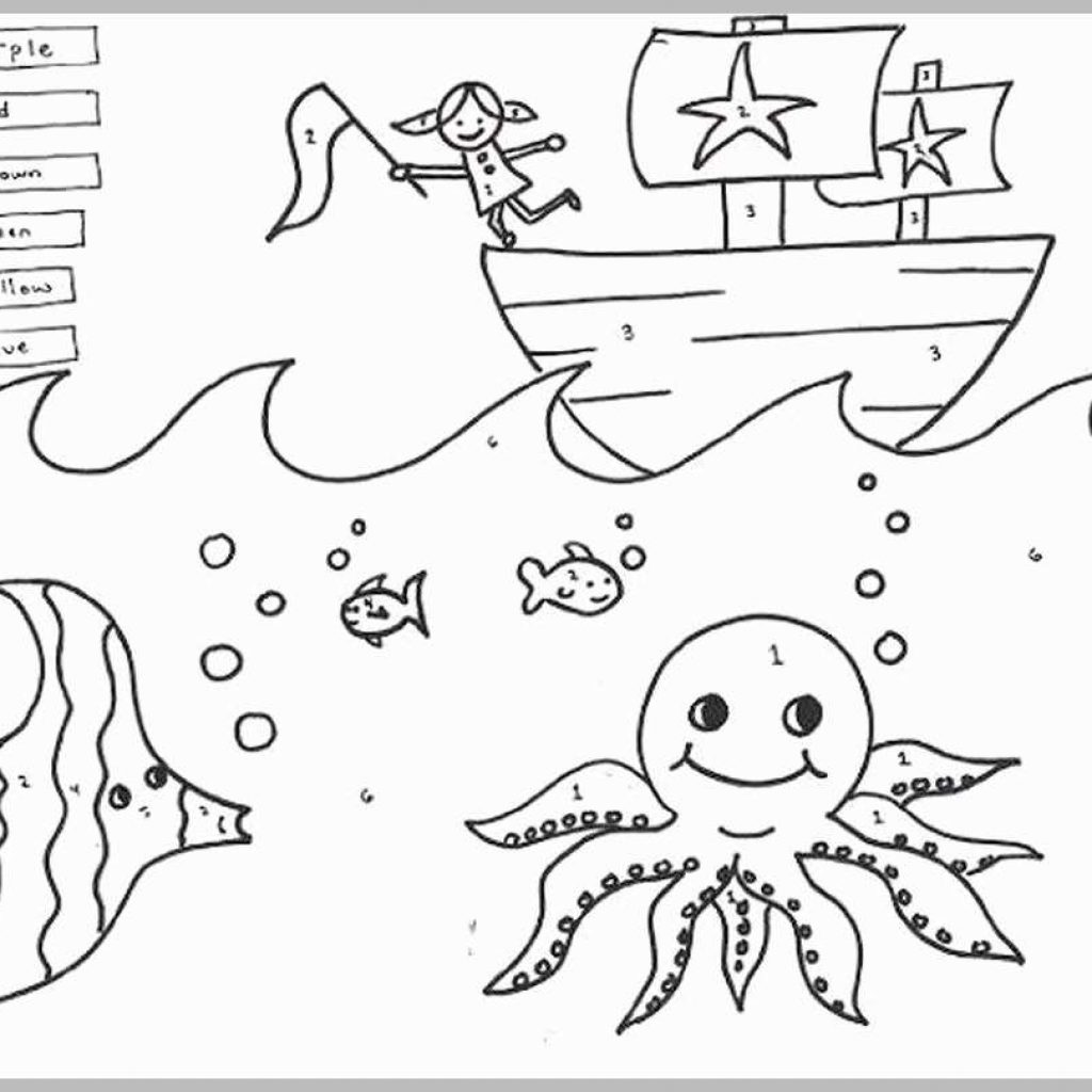 Christmas Coloring Pages For First Grade With Amazing